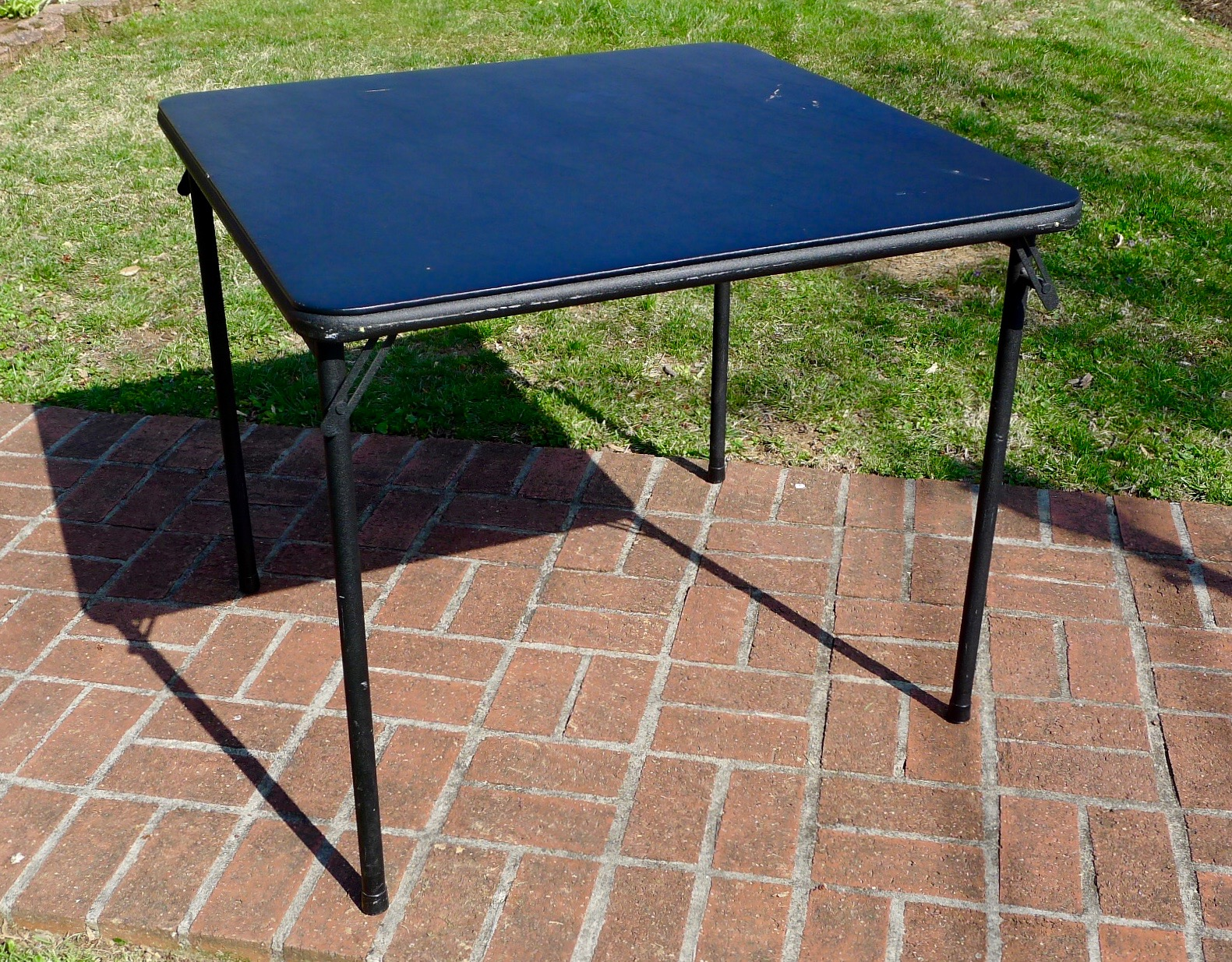 """Used Card Table 34"""" x 27""""H"""