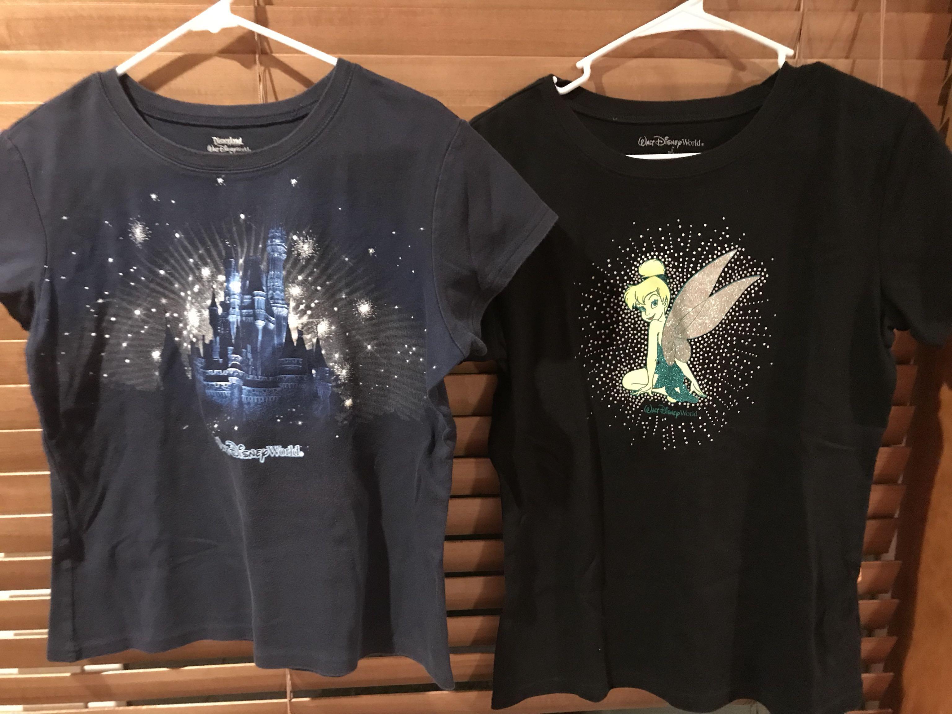 Womans xl disnet shirts