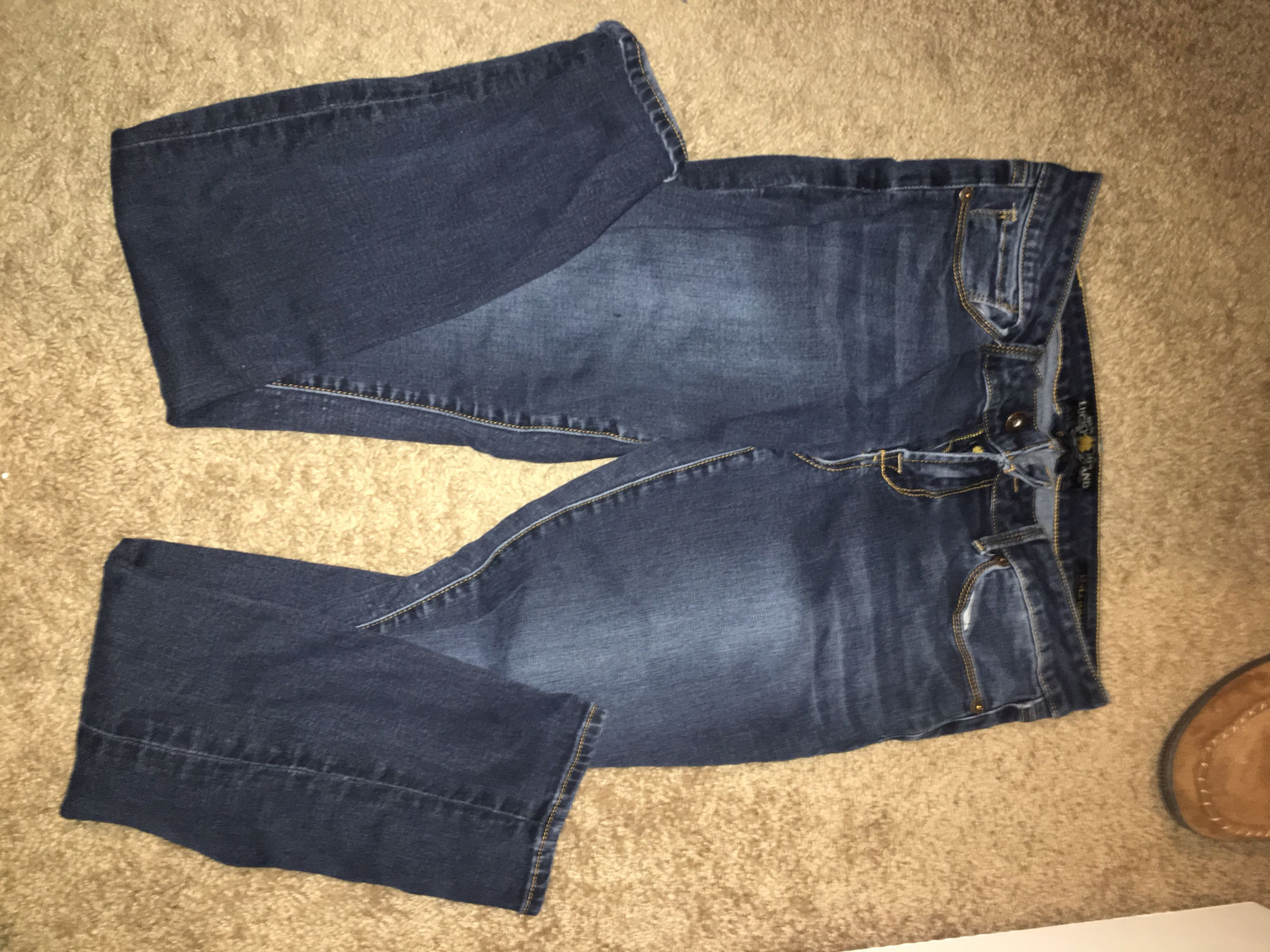 Size 9 lucky brand jeans
