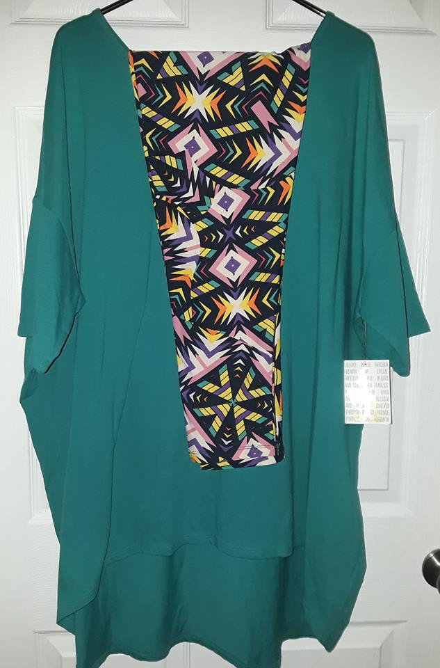 $55 Firm for Brandnew Lularoe Outfit Jade color 3xl Irma top & TC2 leggings