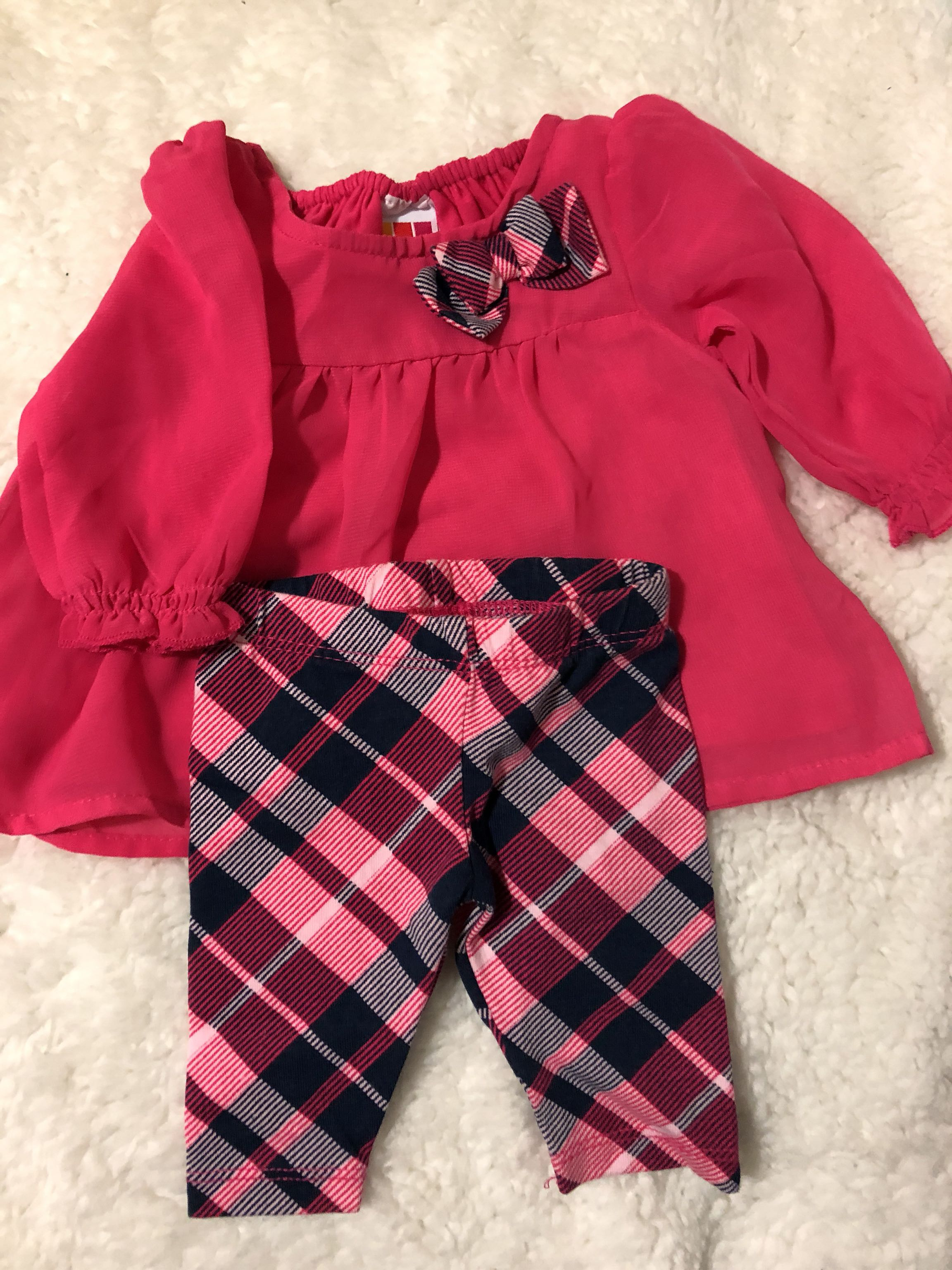 NWOT NB baby girl outfit