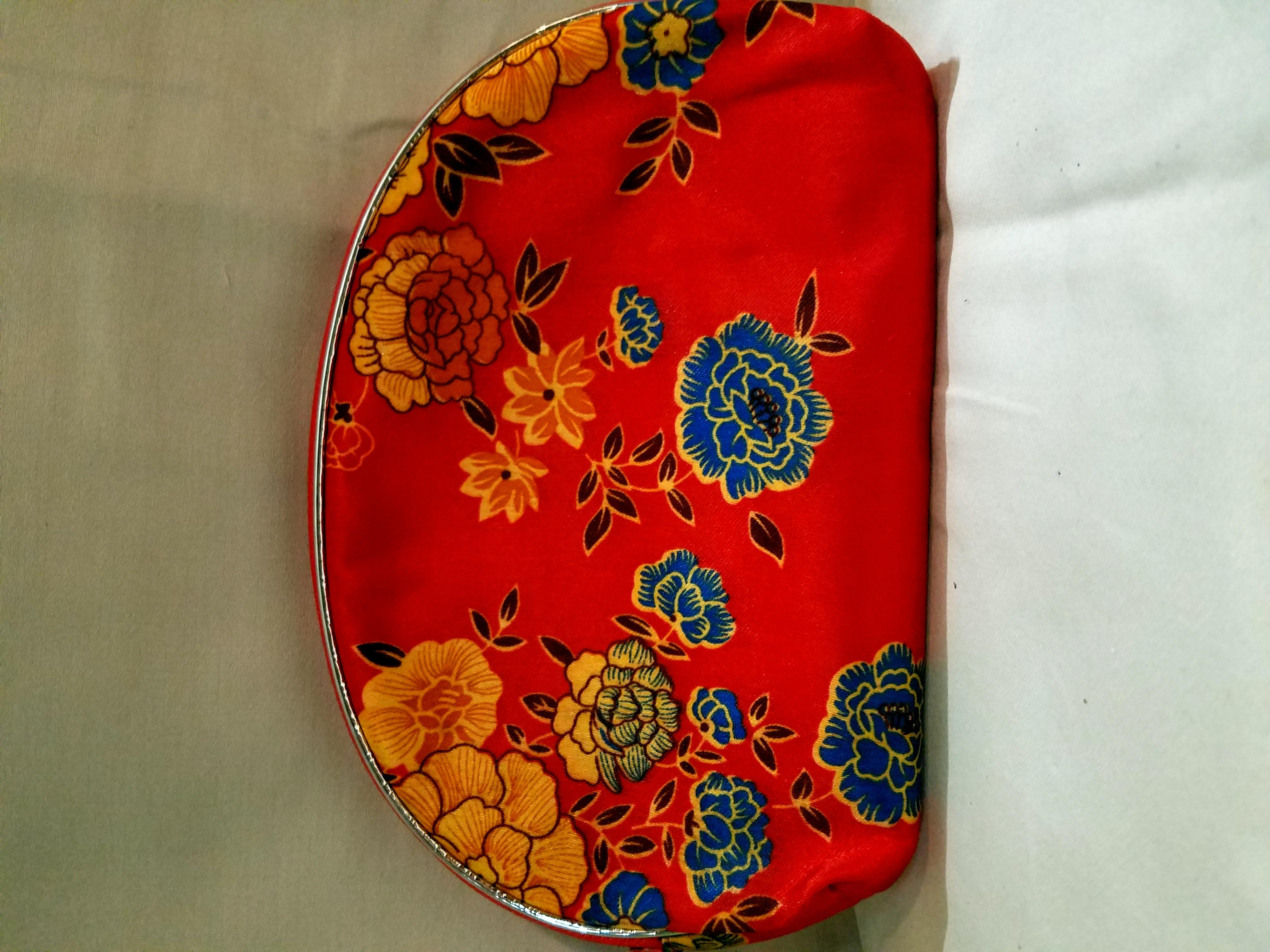5-piece Floral Print Make-up Bag