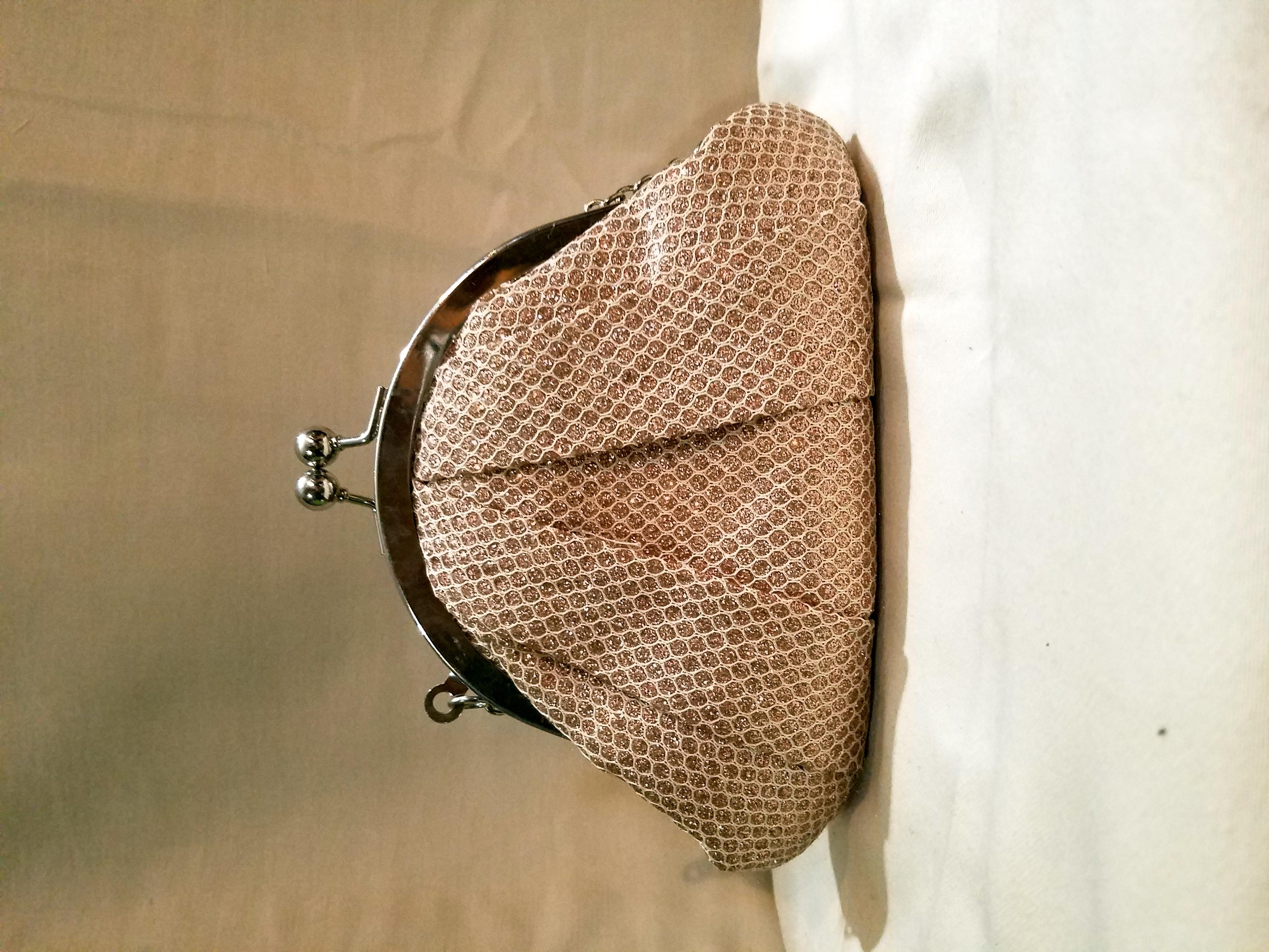 Claire's Glitter Shoulder Bag