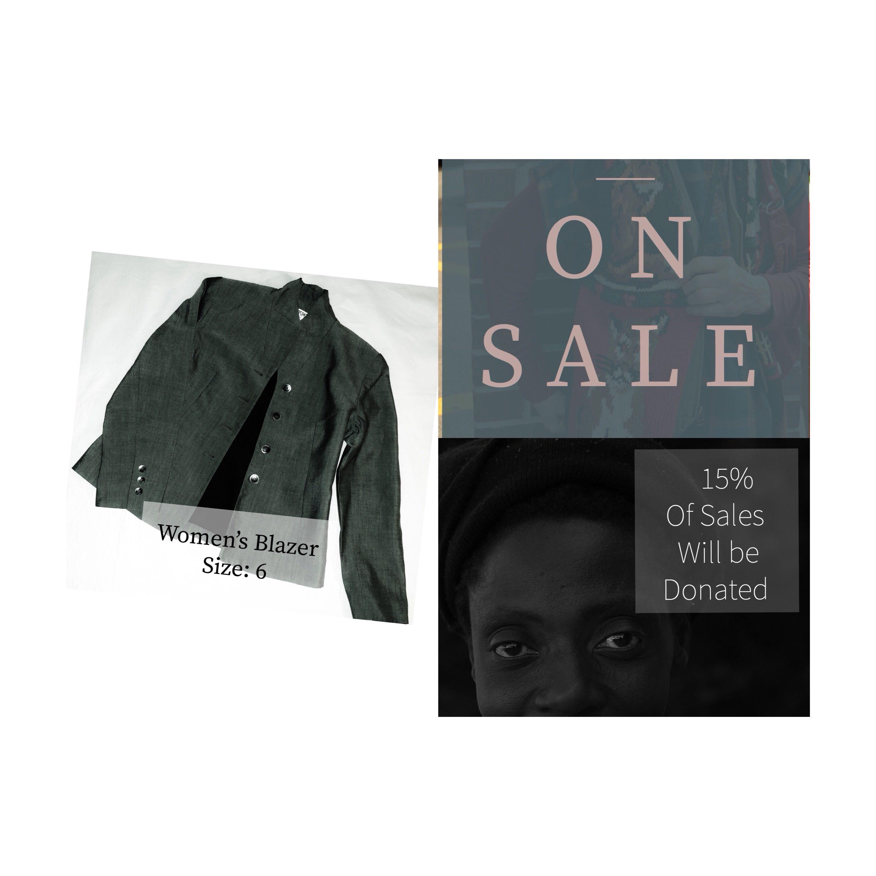 Women's Kasper grey blazer