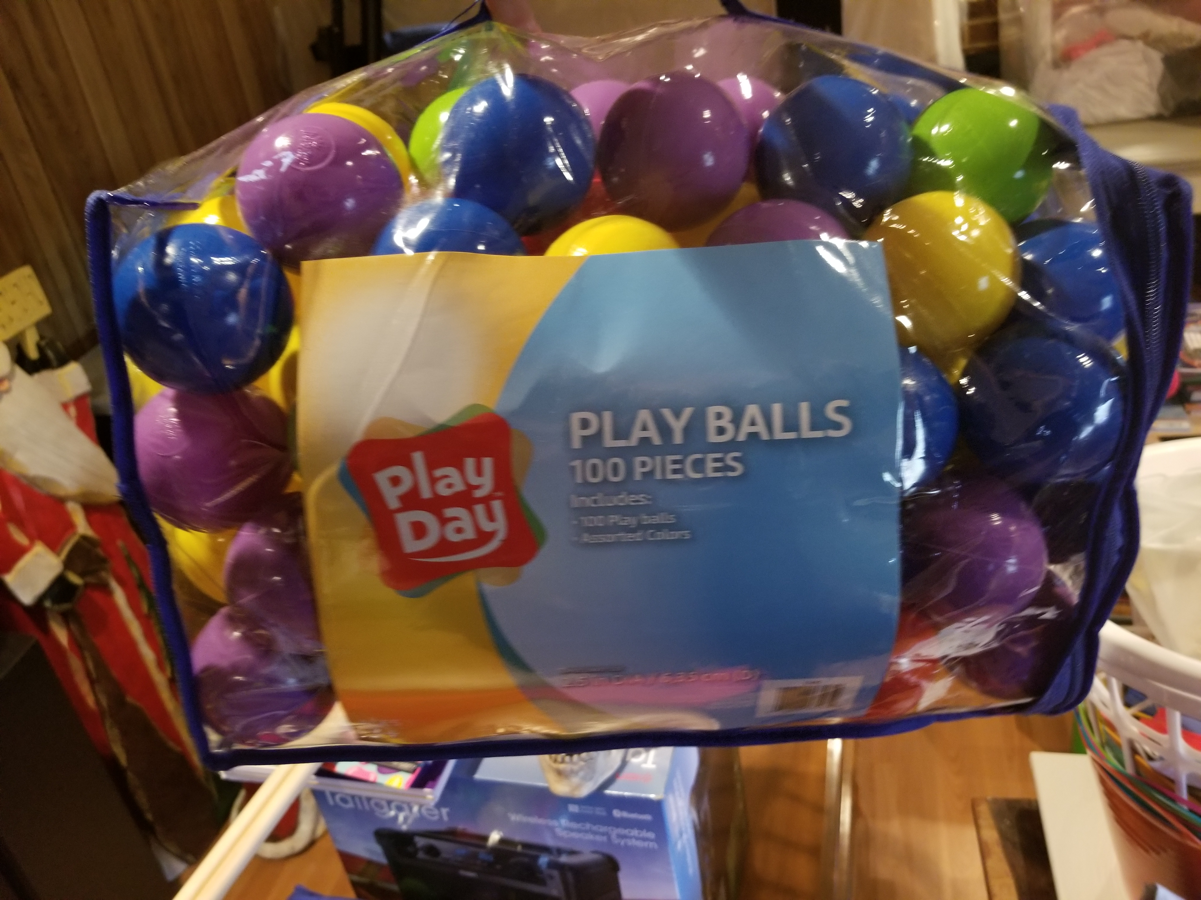 2 play day 100 piece play balls