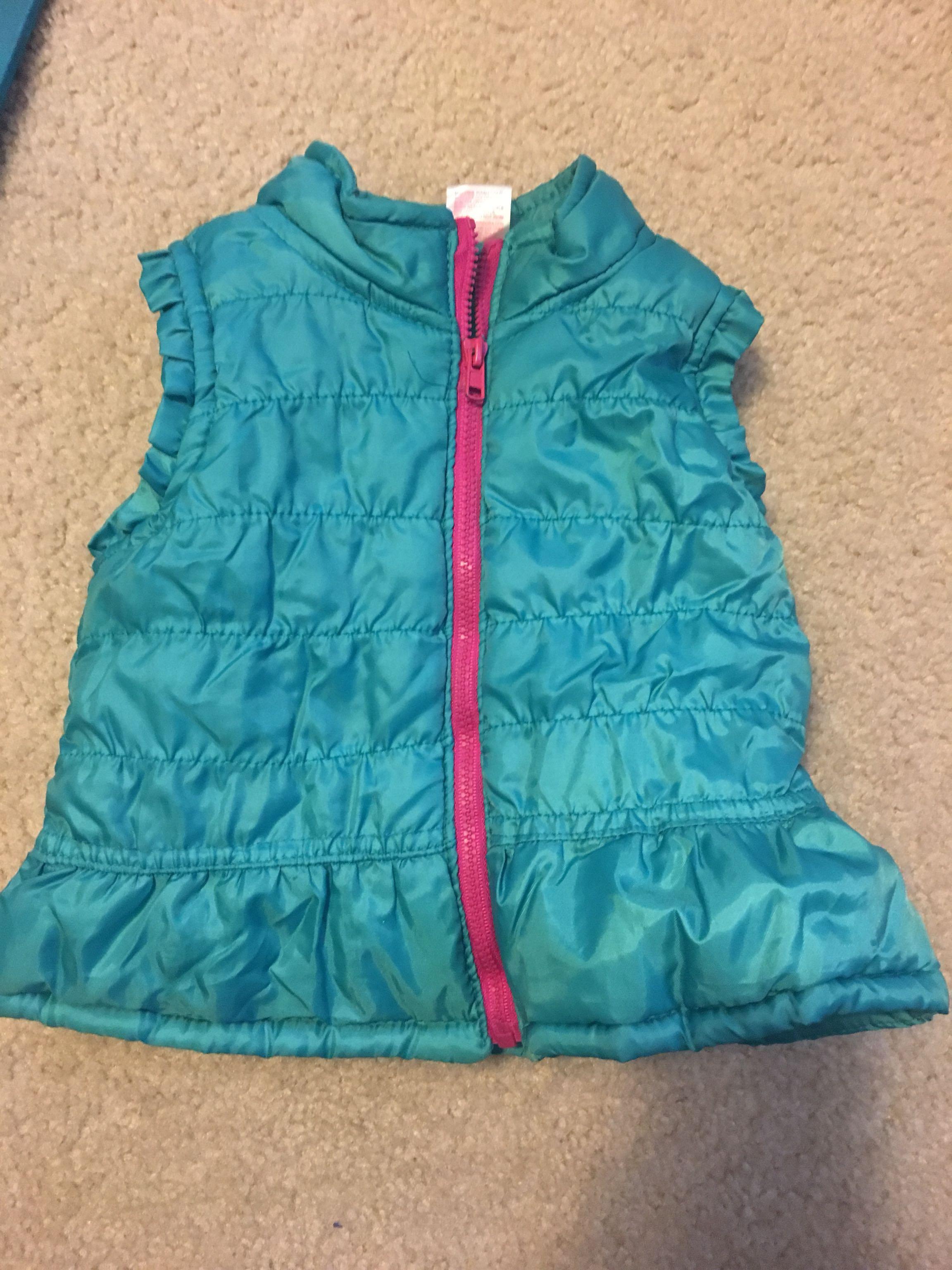 12 mo puffer vest
