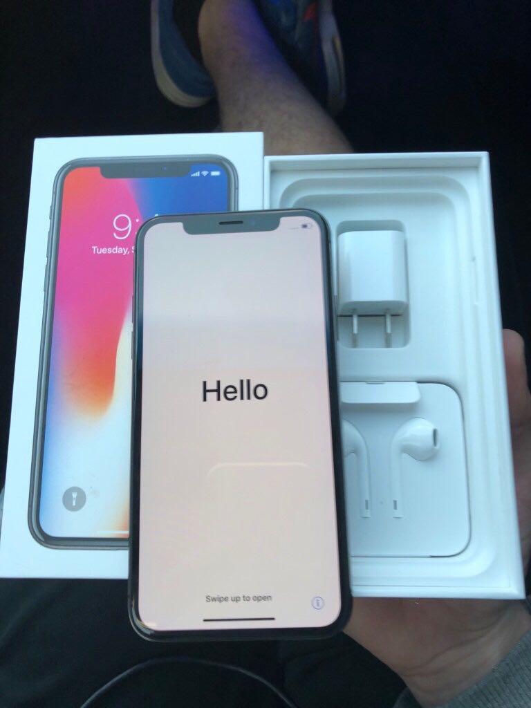 Unlocked iPhone X 64GB