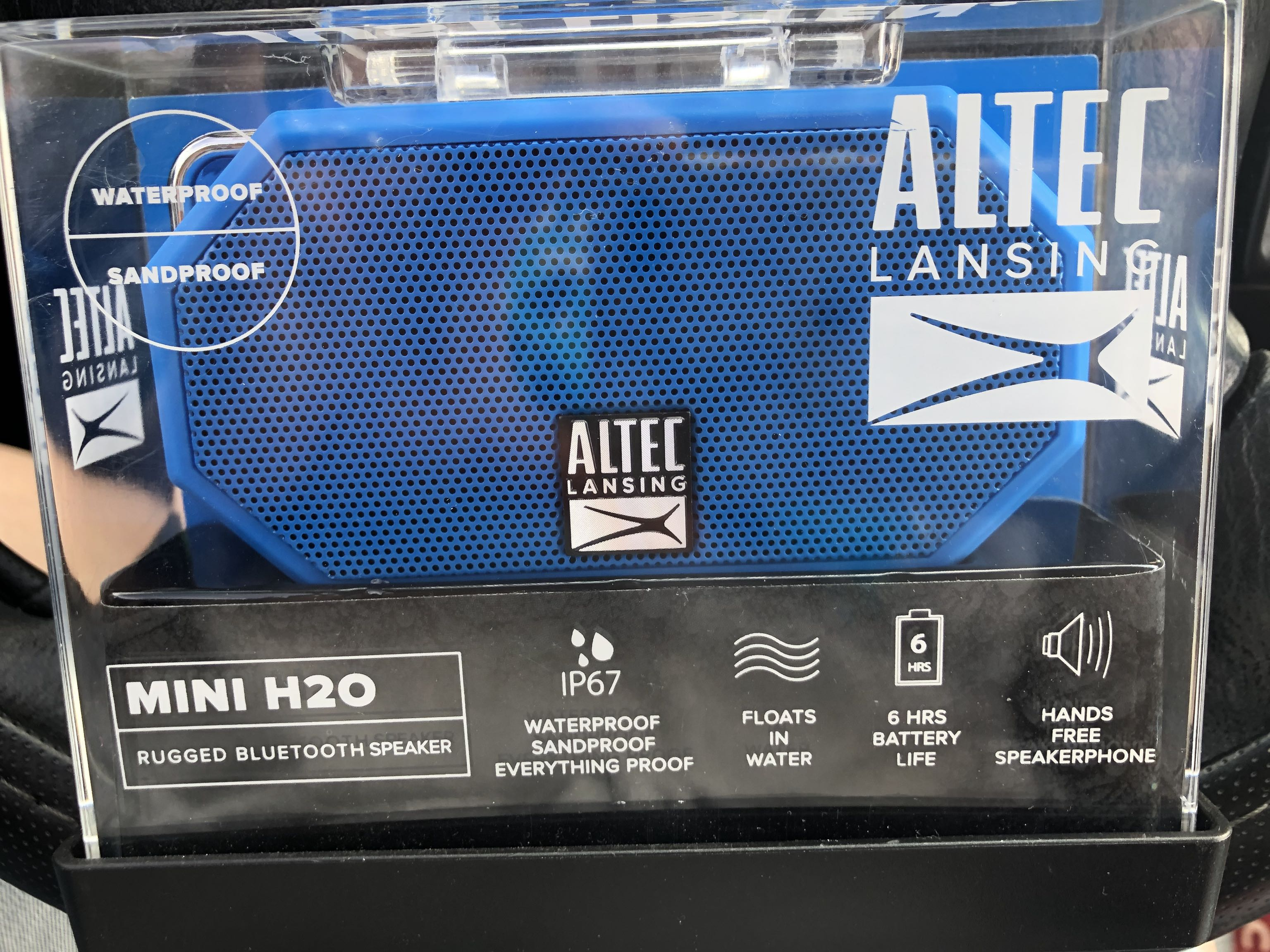 Brand New Blue Altec Lansing Bluetooth Speaker