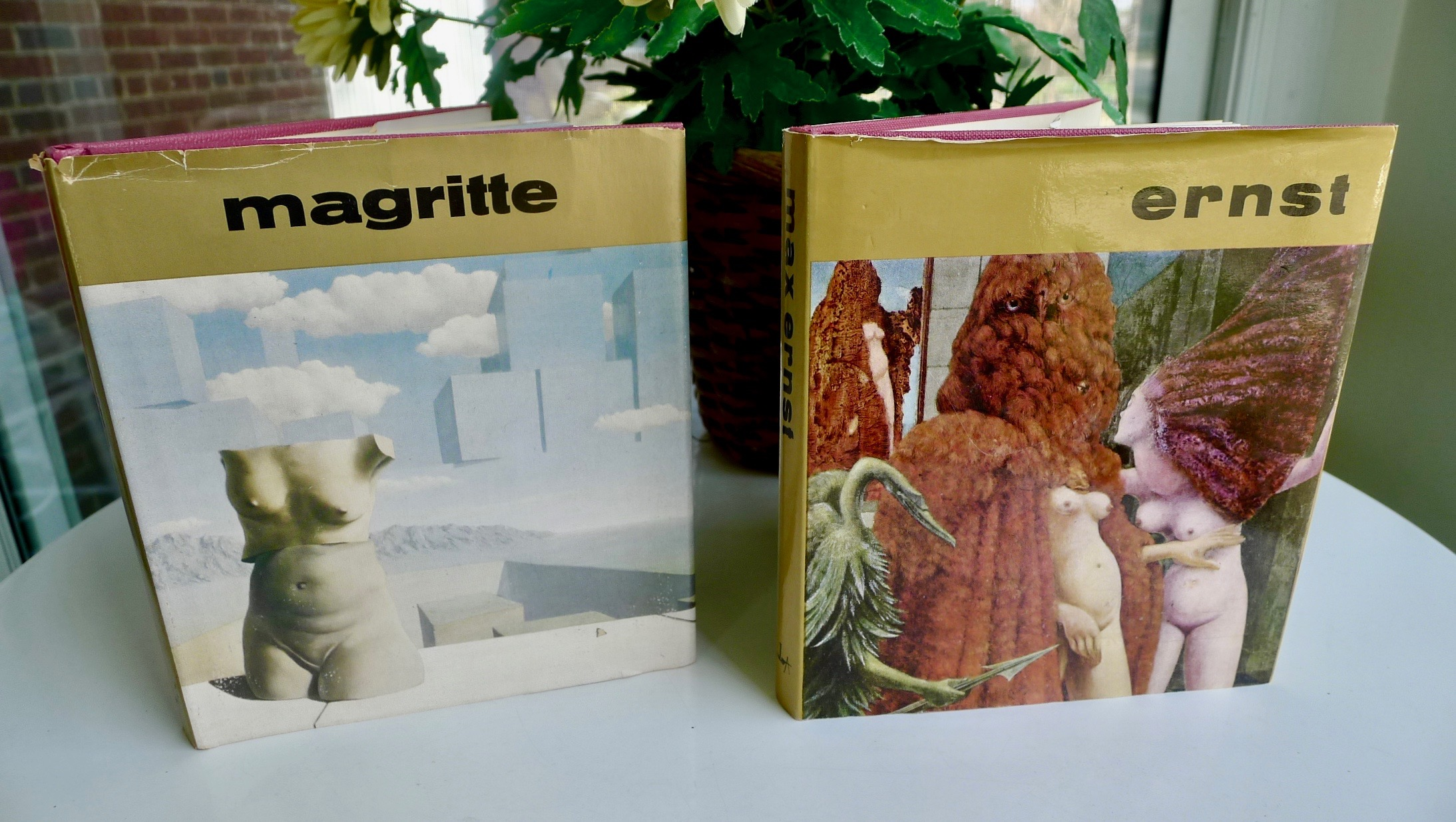 2 Art Books (Great Masters of Art Series) Magritte & Ernst - $8 (Bethesda)