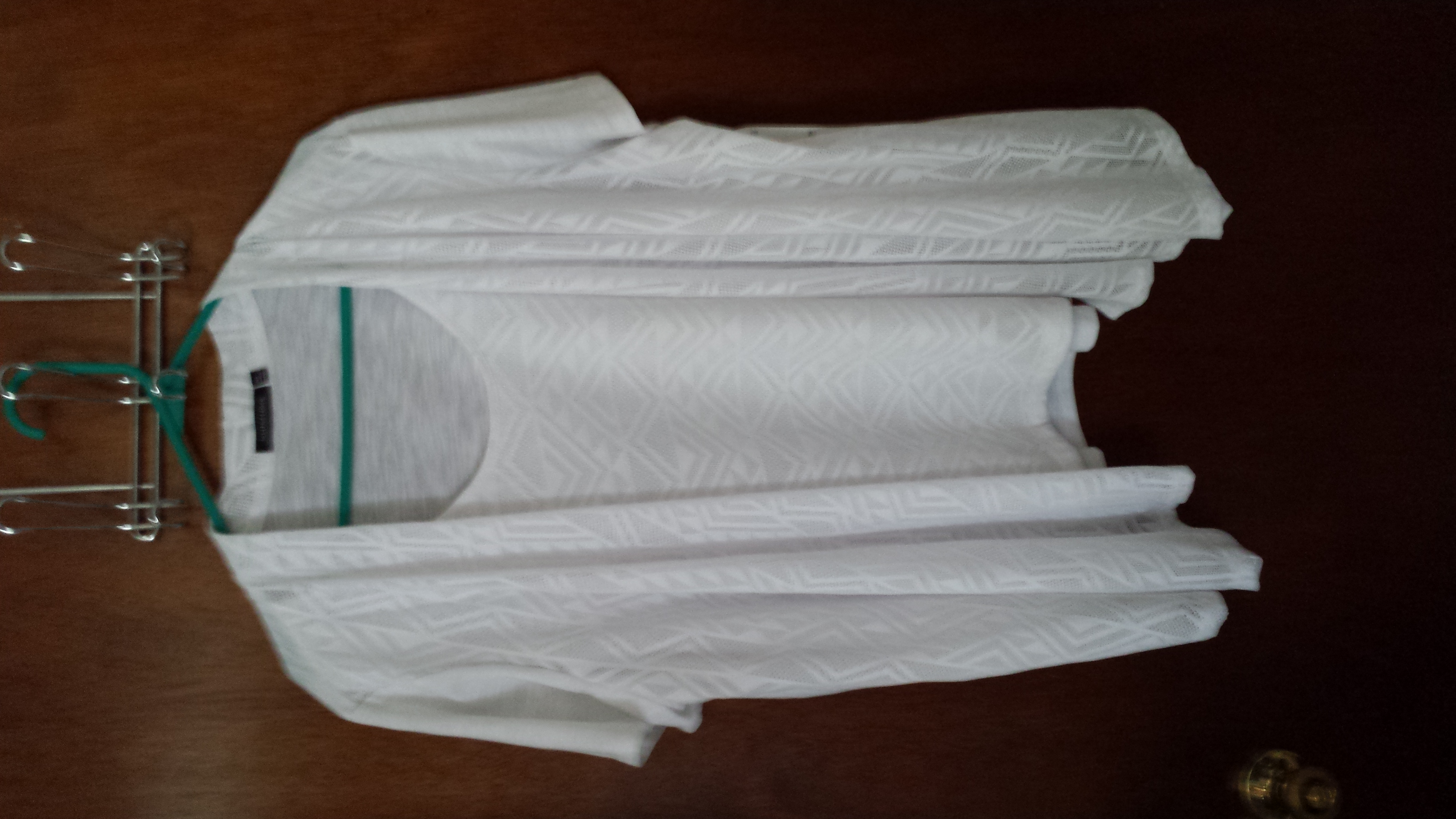 NEW With Tag Notations White Shirt Size XL
