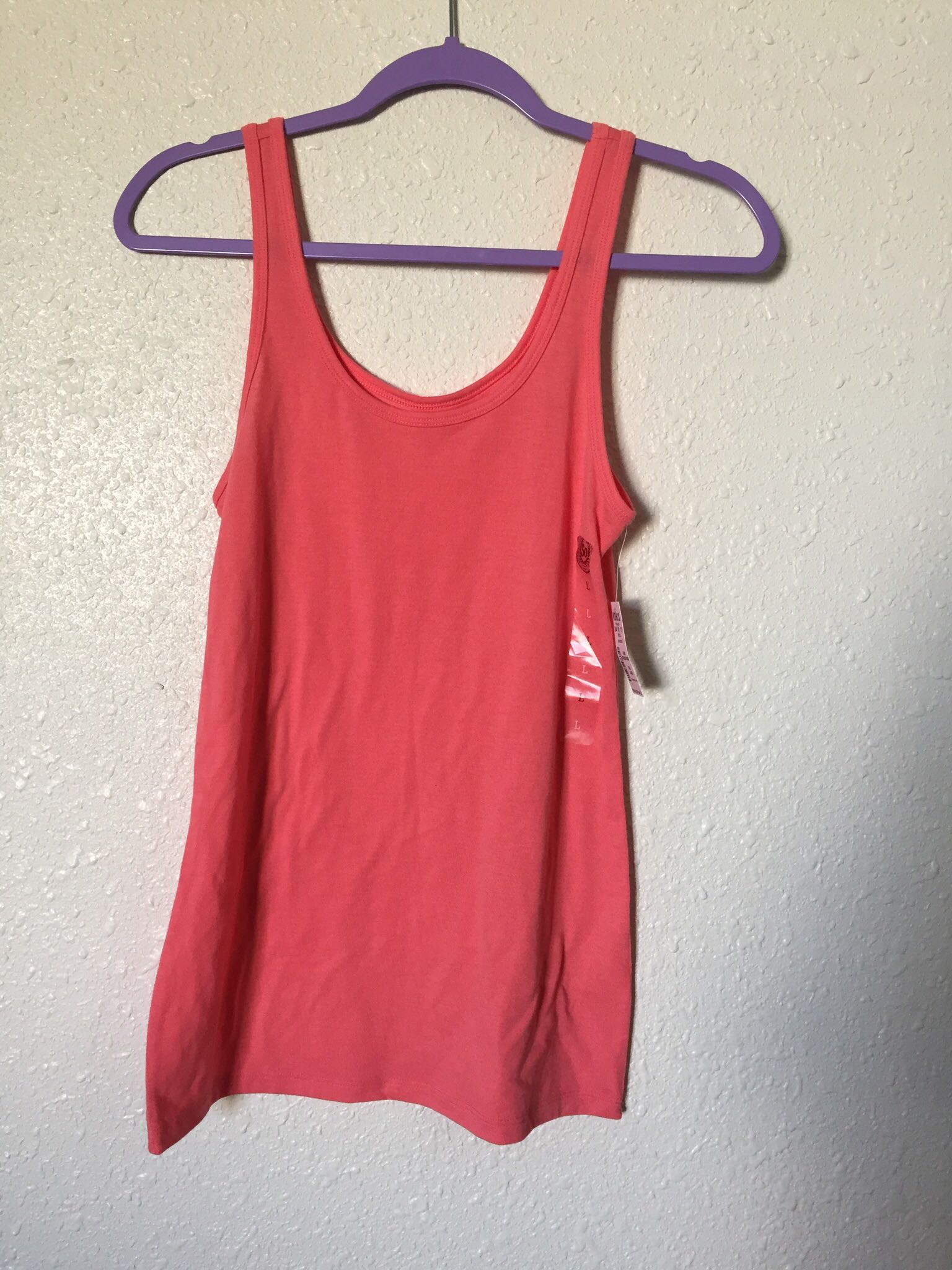 NWT Coral Tank Top