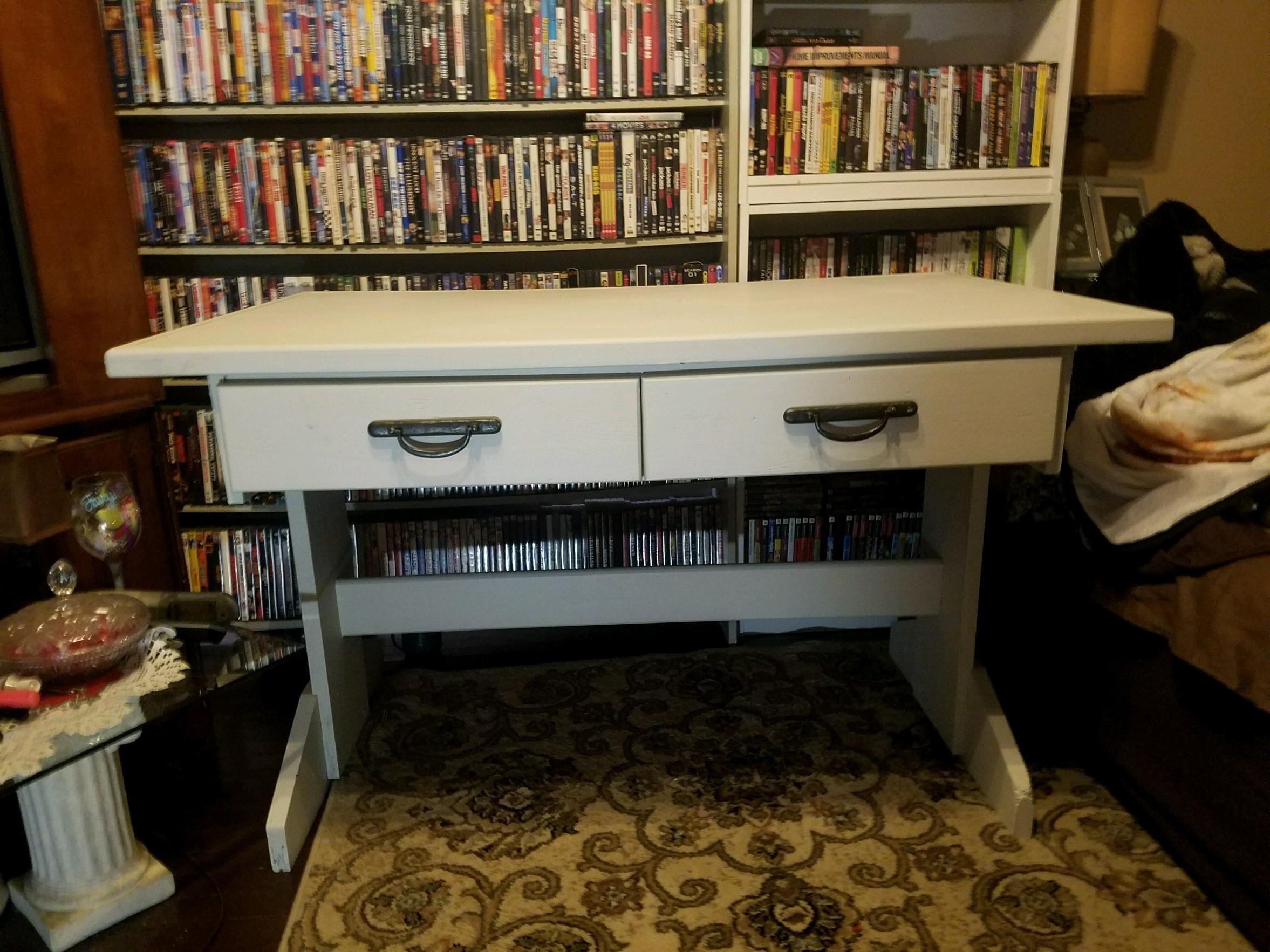 two sided desk