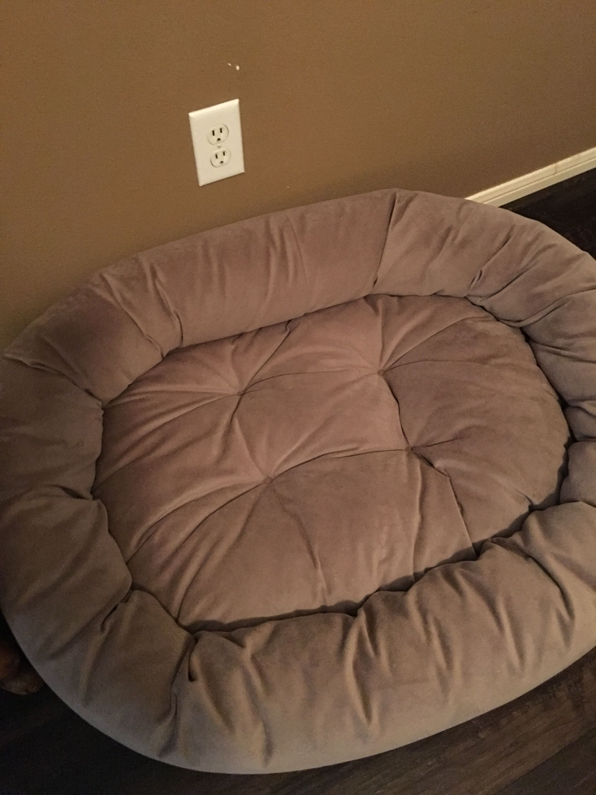 2 Plush Dog Beds from FRONTGATE