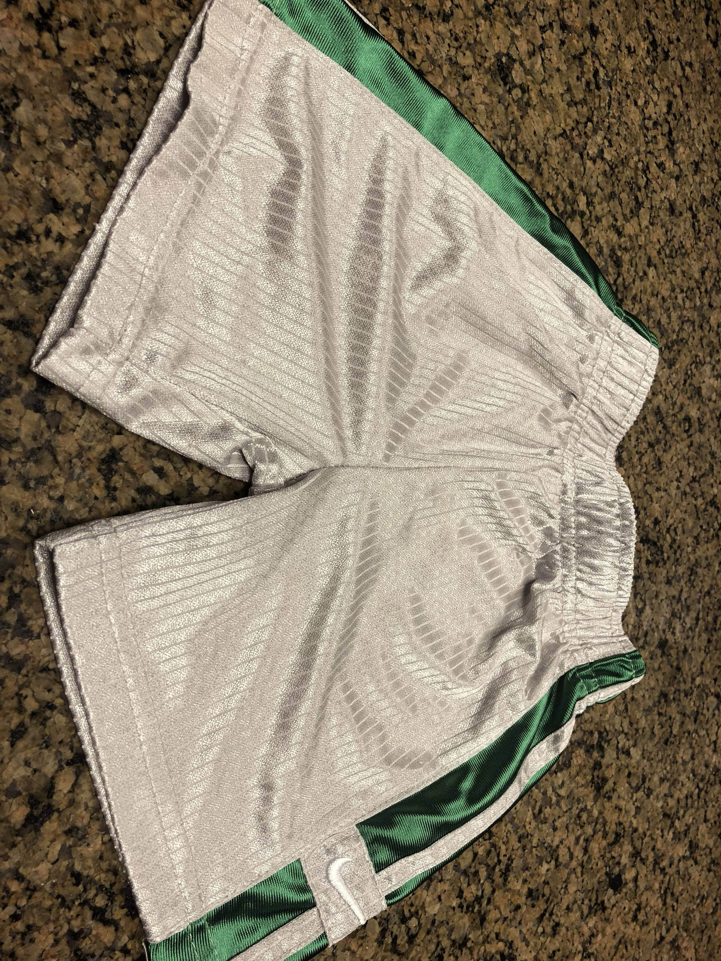 Silver Nike shorts in EUC. Size 18 months. Avery Park.