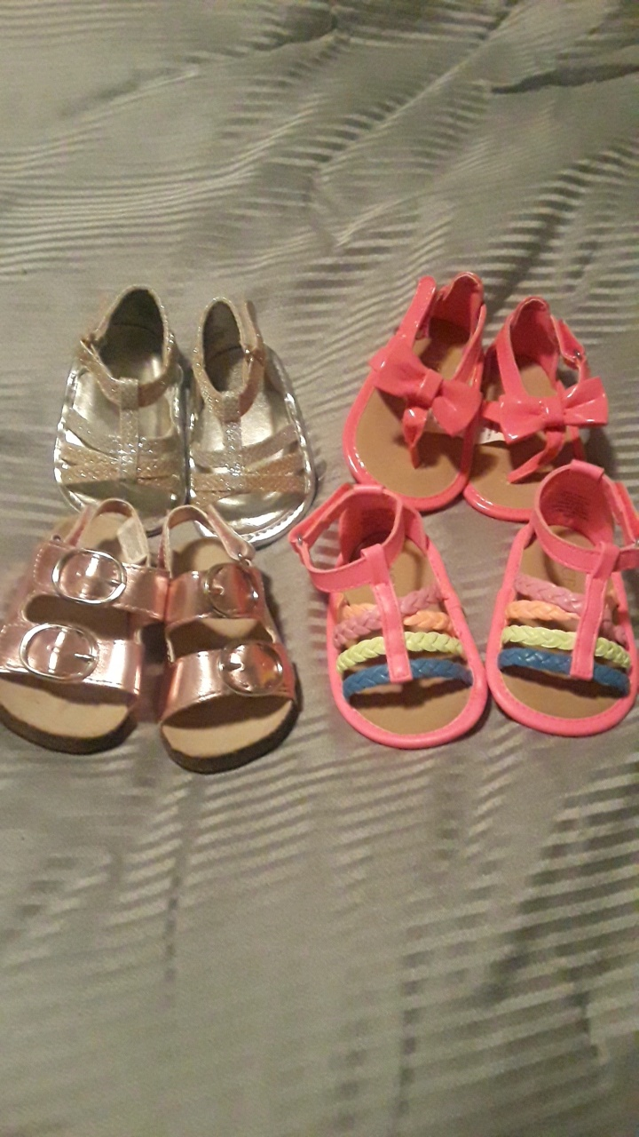 Brand new baby sandals
