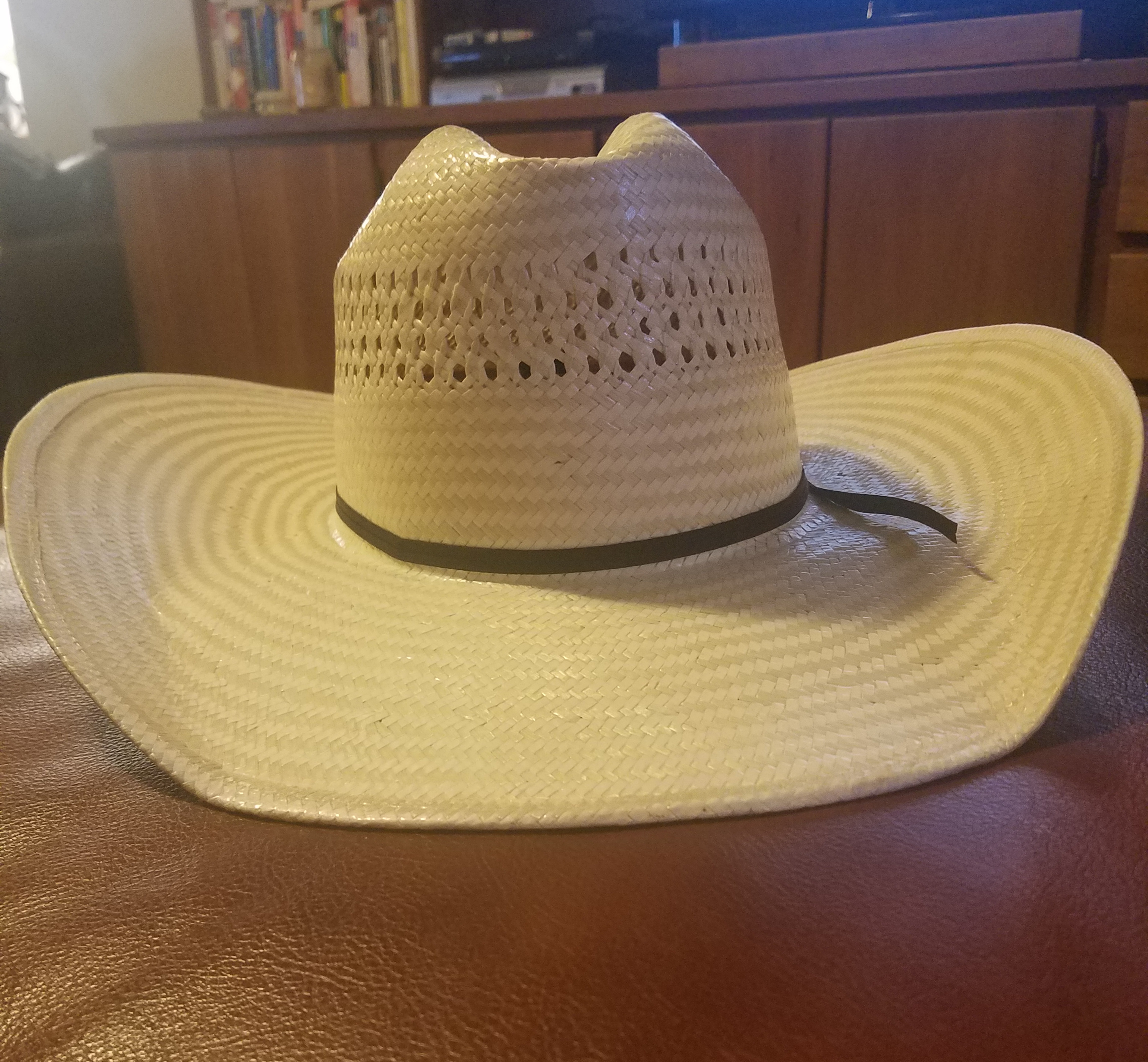brand new American Hat Company 7 5/8 straw cowboy hat
