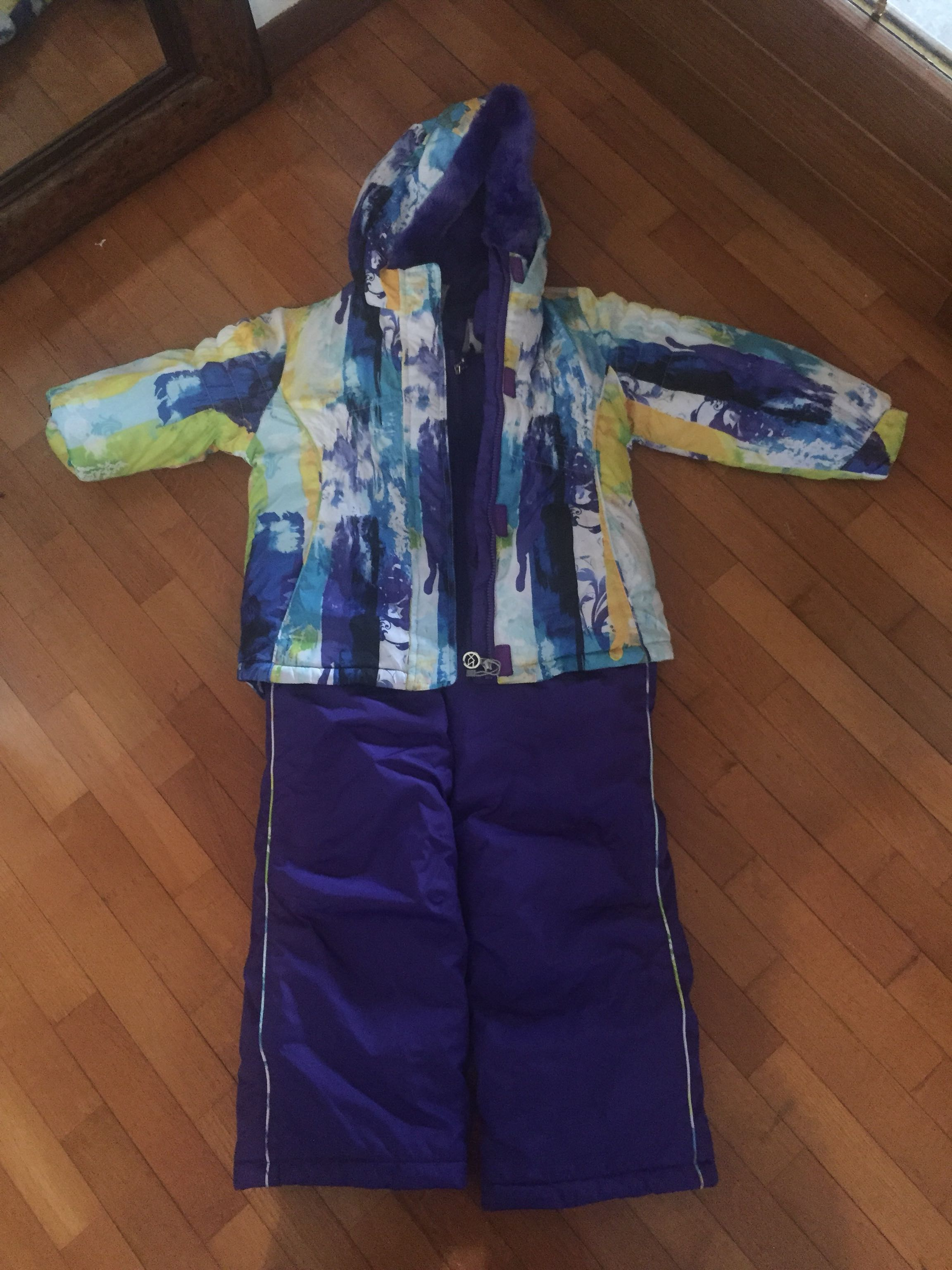 Snow suit with jacket