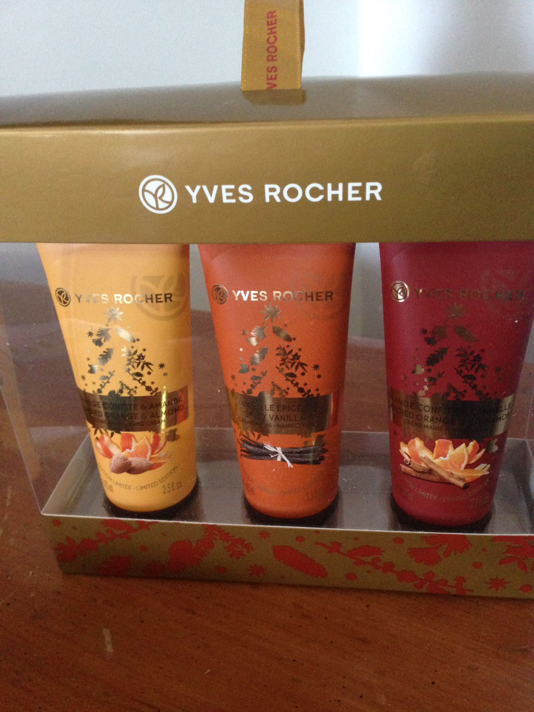 Hand and Body Cream, New in box, set of 3