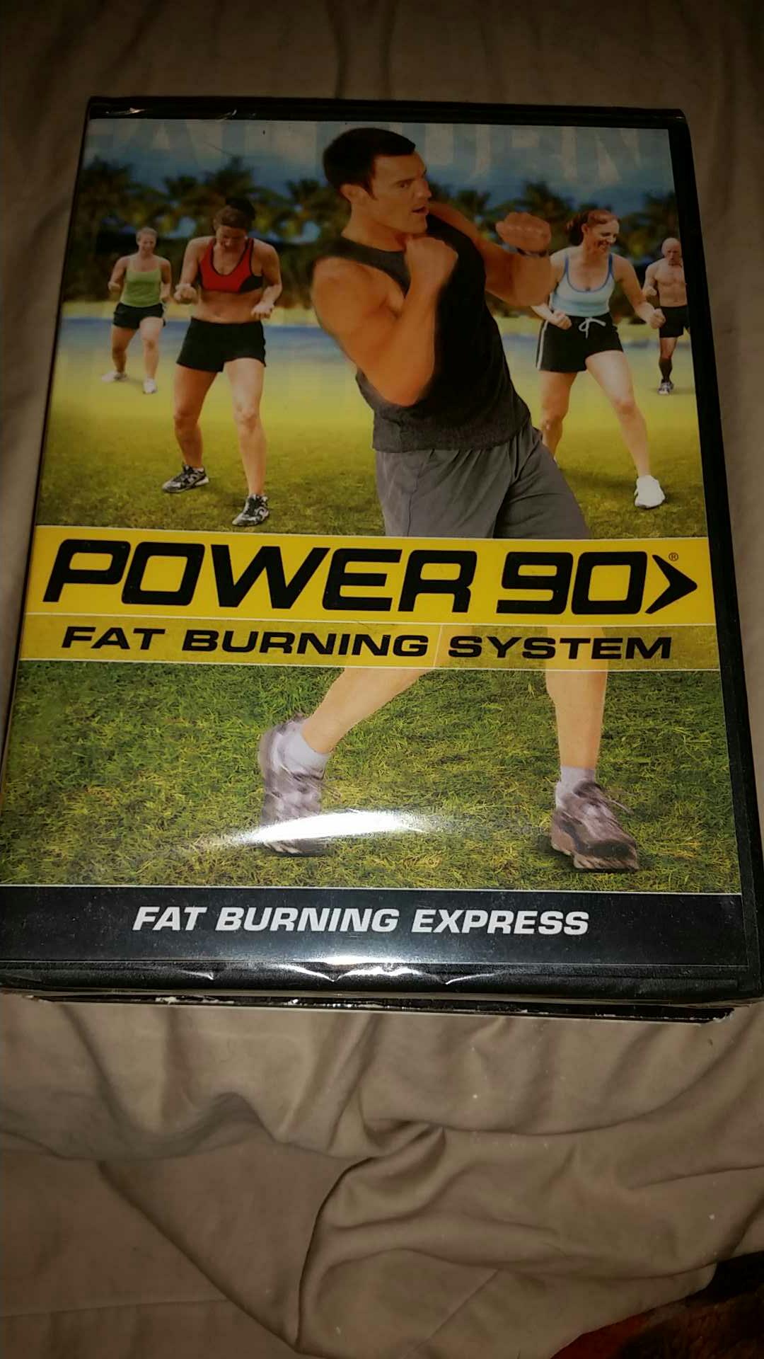 Tony Horton power 90 fat burning system