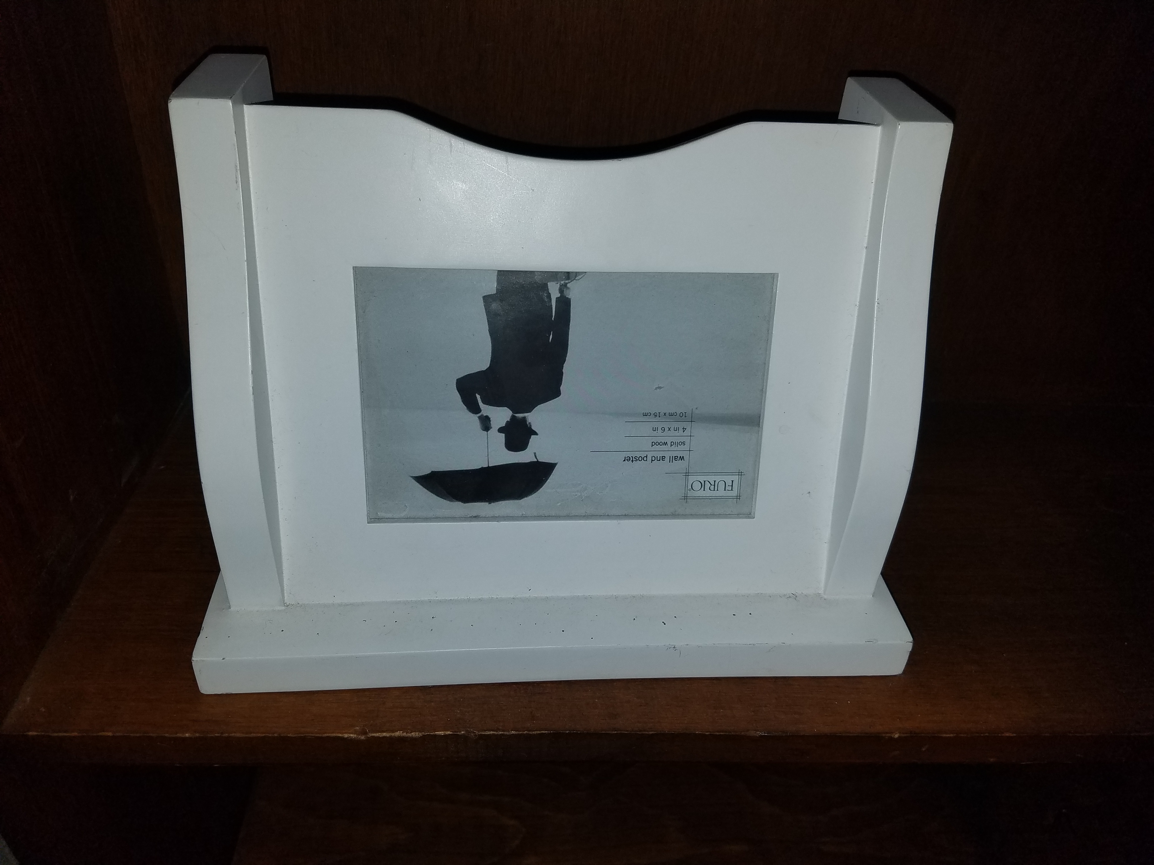 Wall shelf with frame -3 available