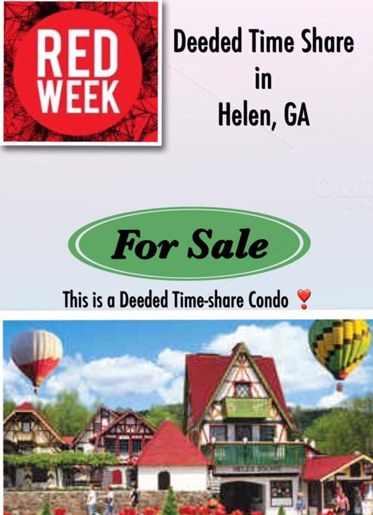 DEEDED Time Share (Red Week)