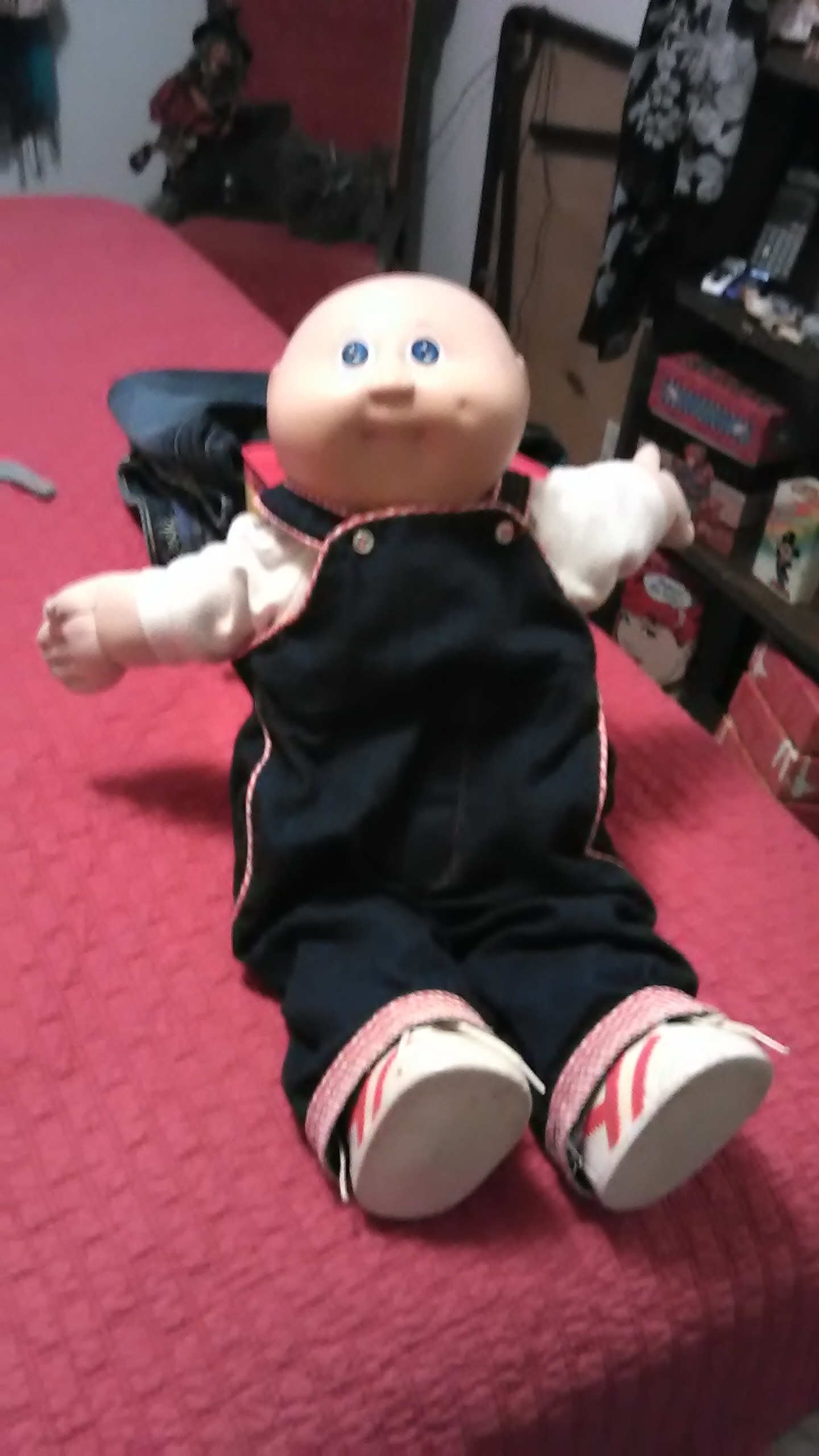 Cabbage patch doll clean. Ex cond