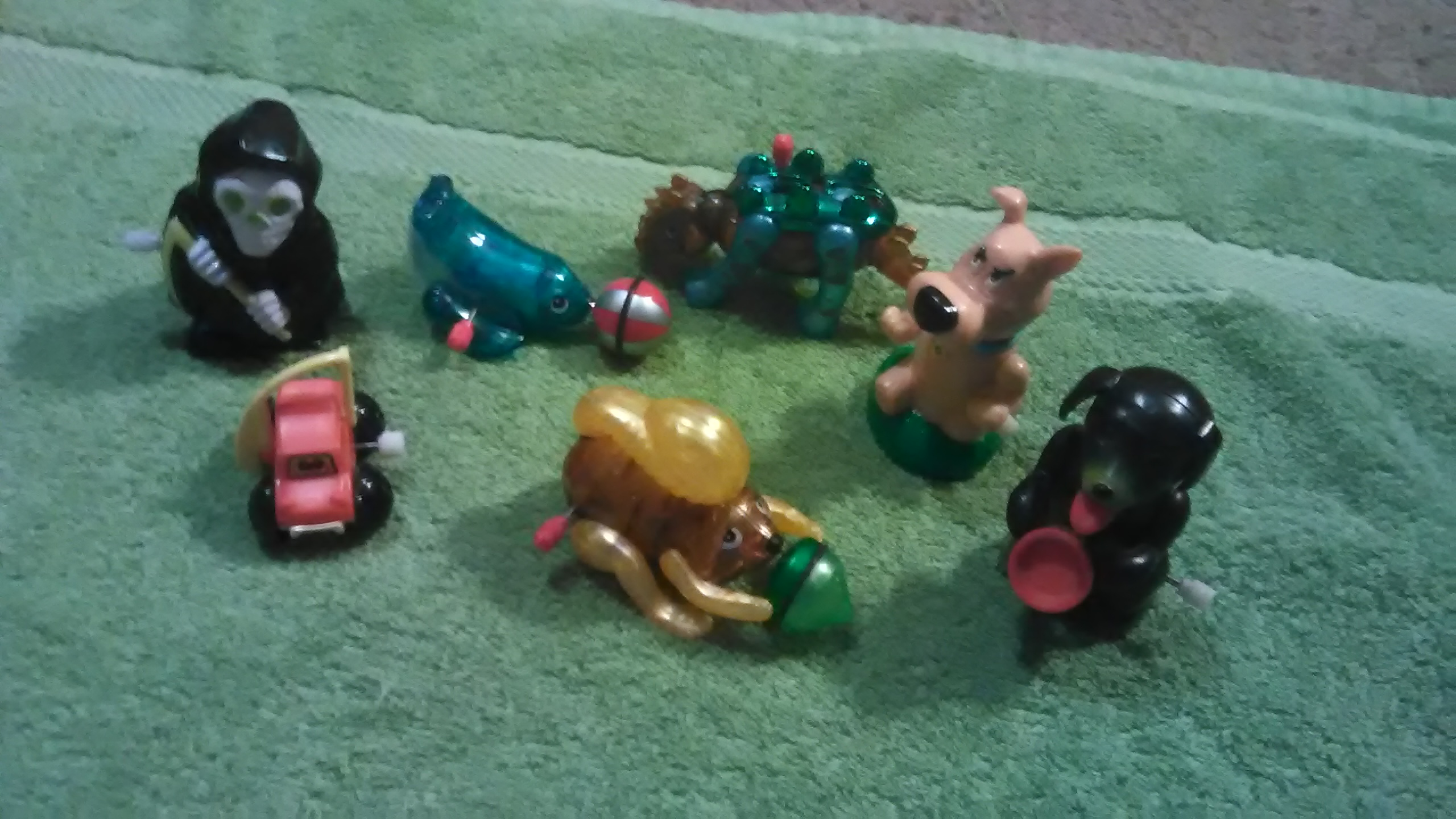 Vintage wine up toys. Ex cond.