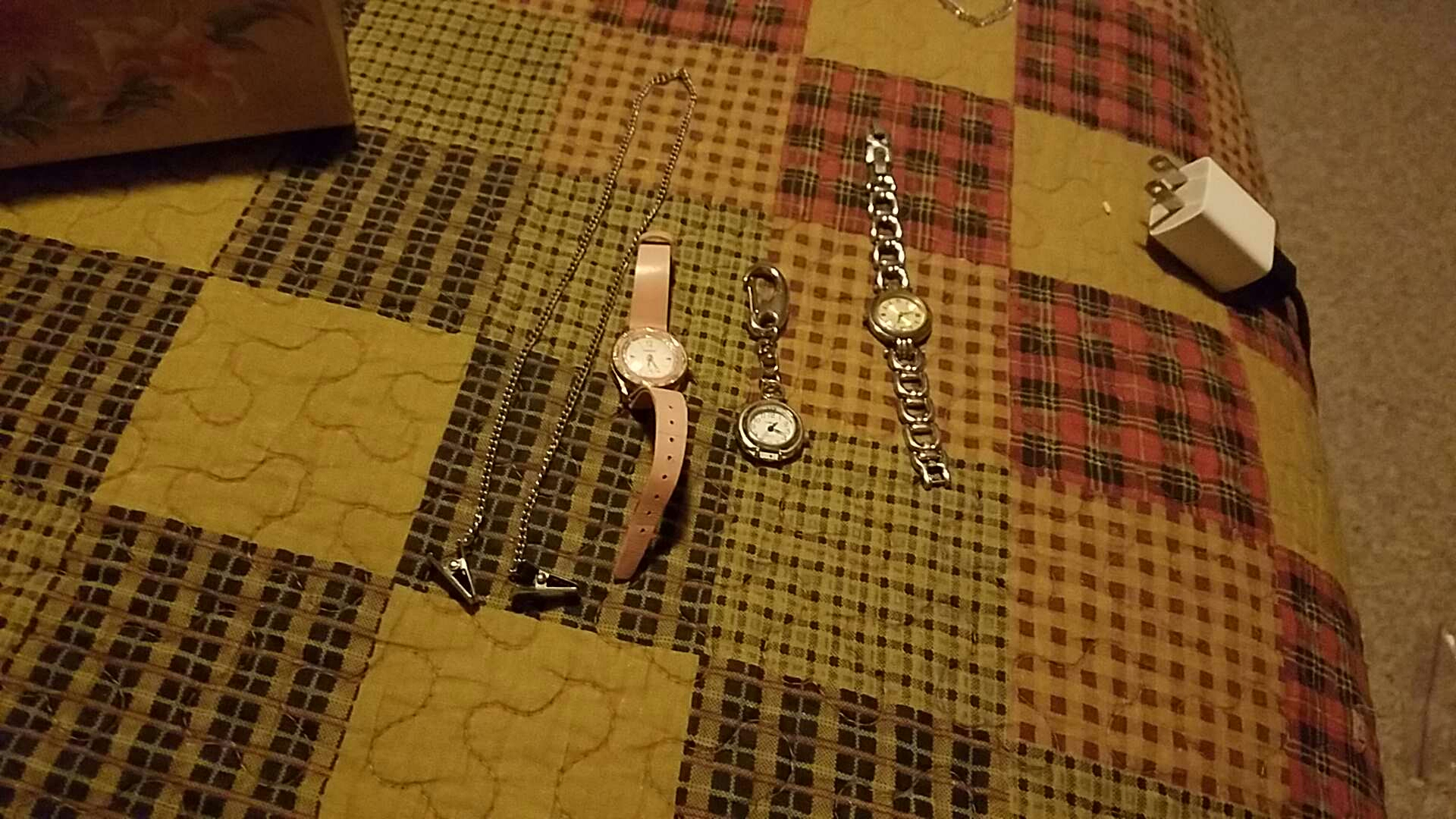 Lot of watches and clip item