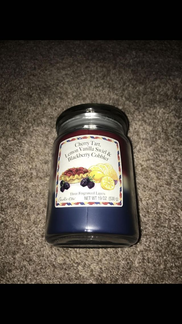 Large jar candle 19 oz