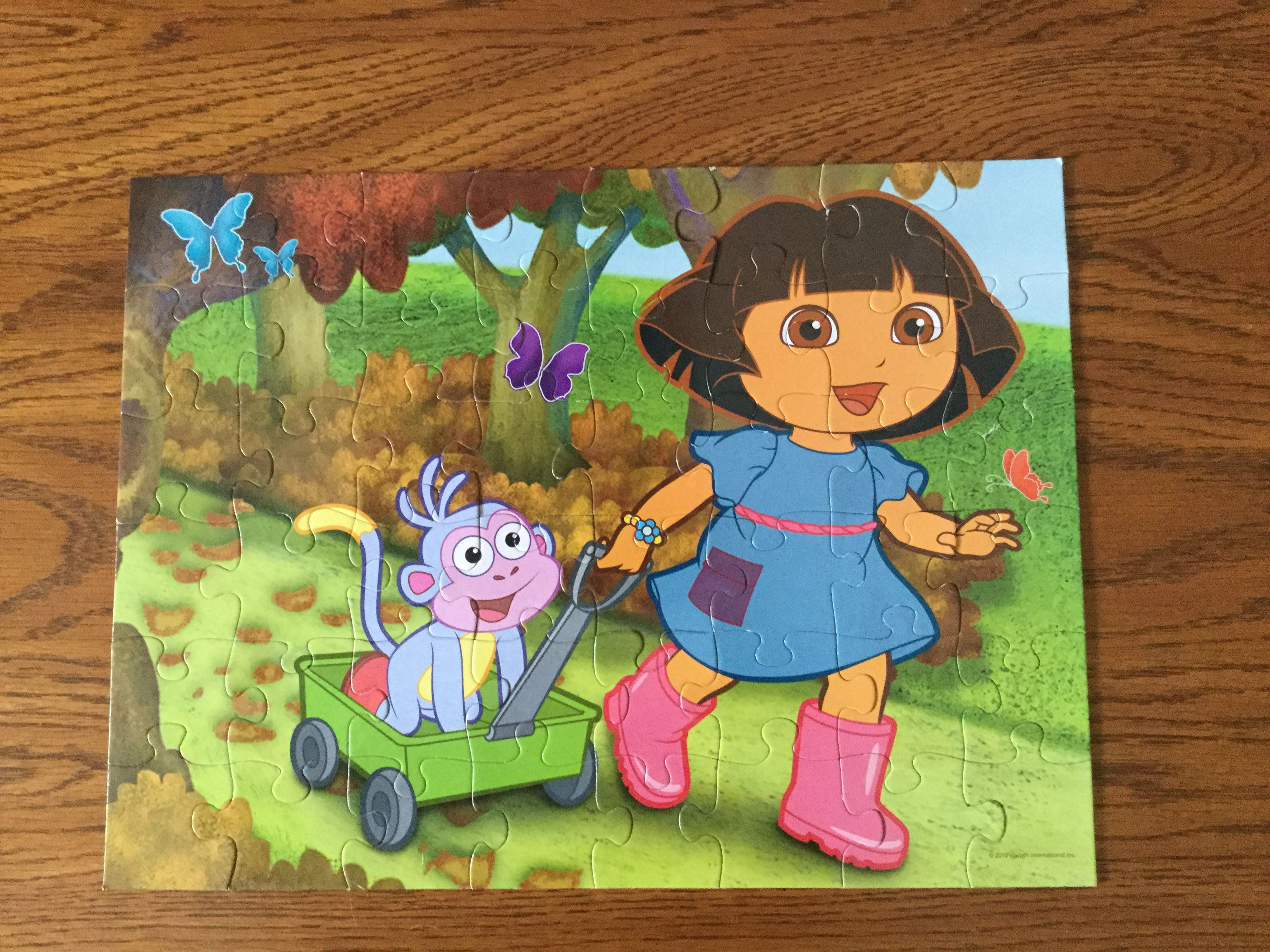 Dora The Explorer Puzzle 48 Pieces