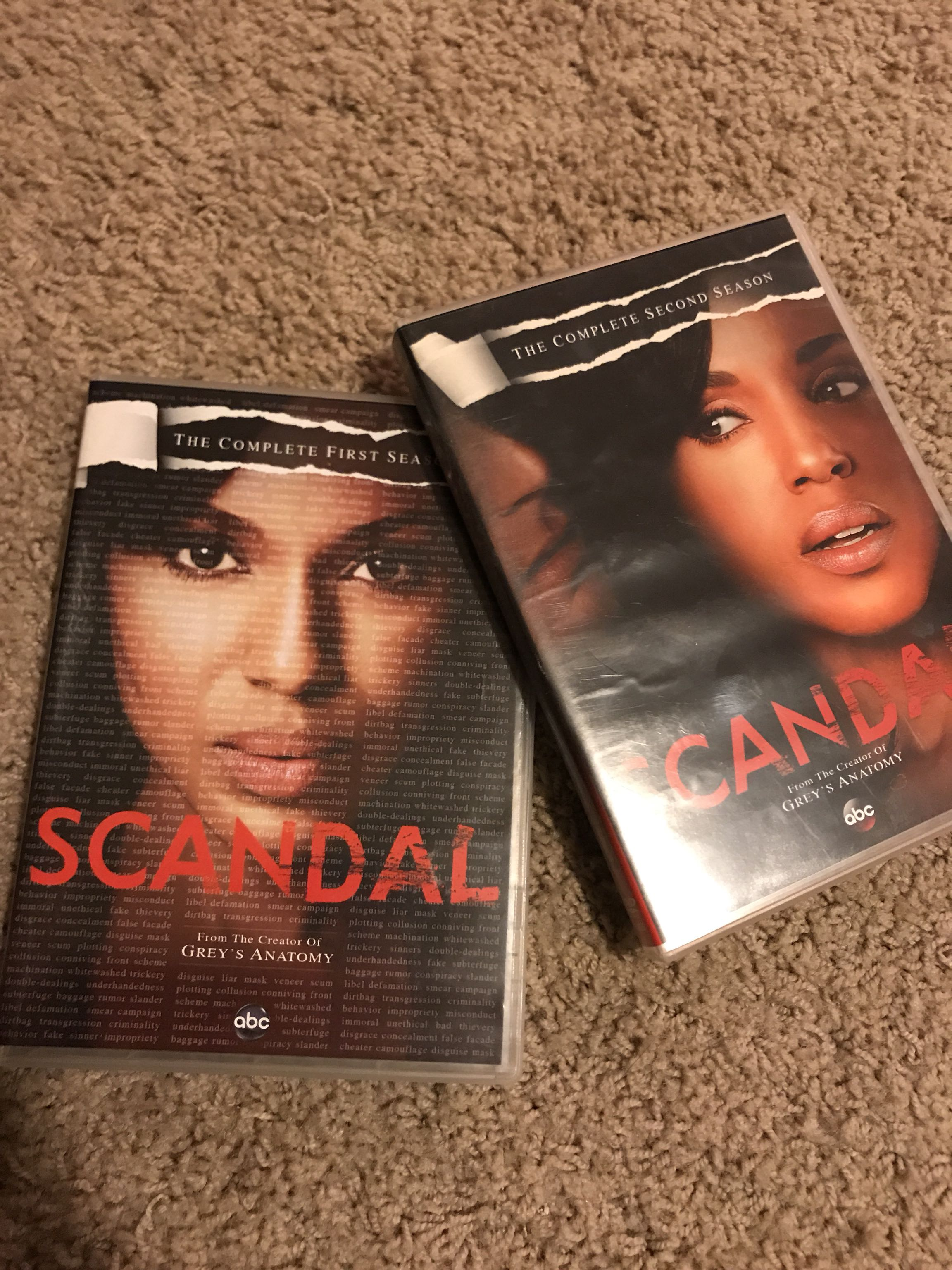 Scandal season