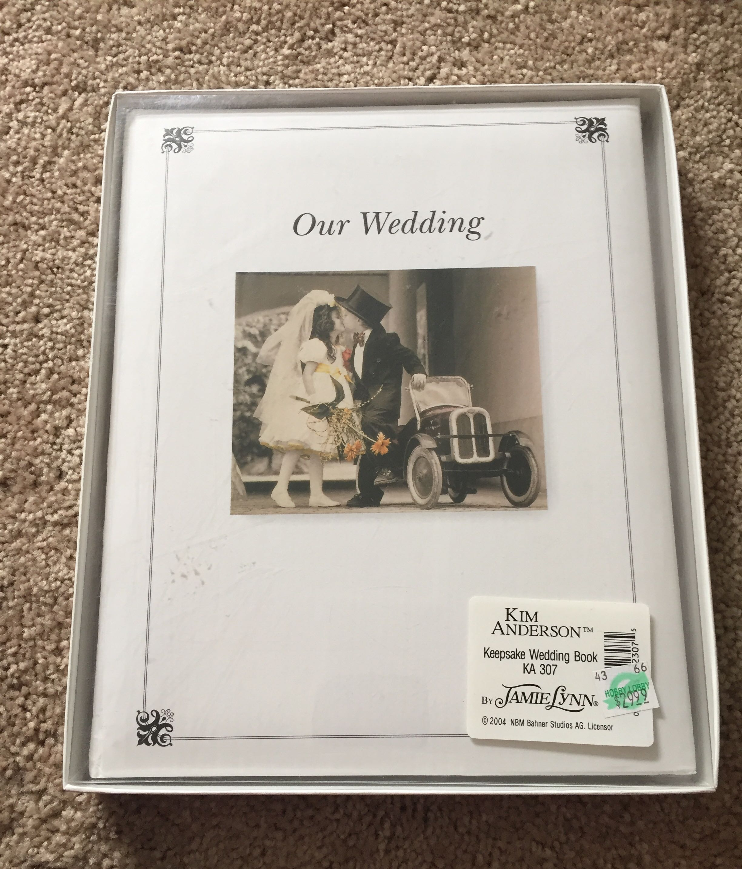 Kim Anderson Wedding Book