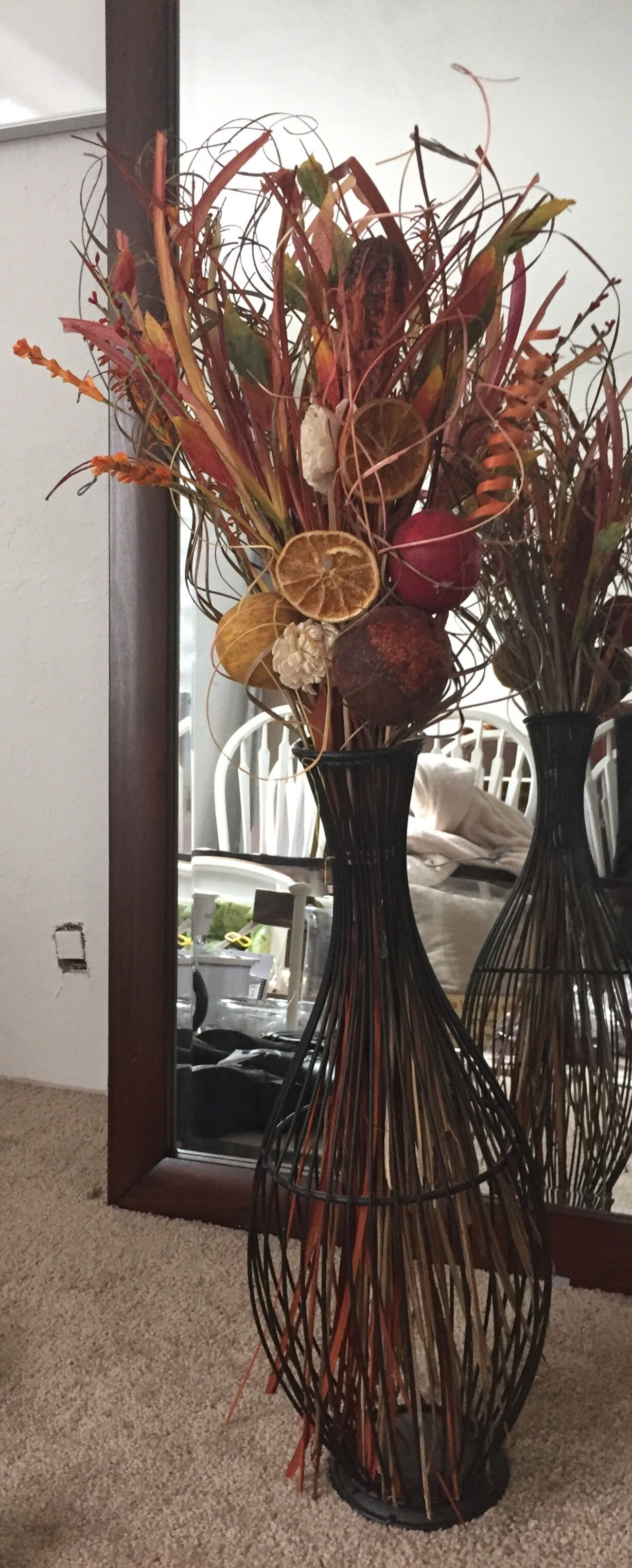 Fall Vase Decor