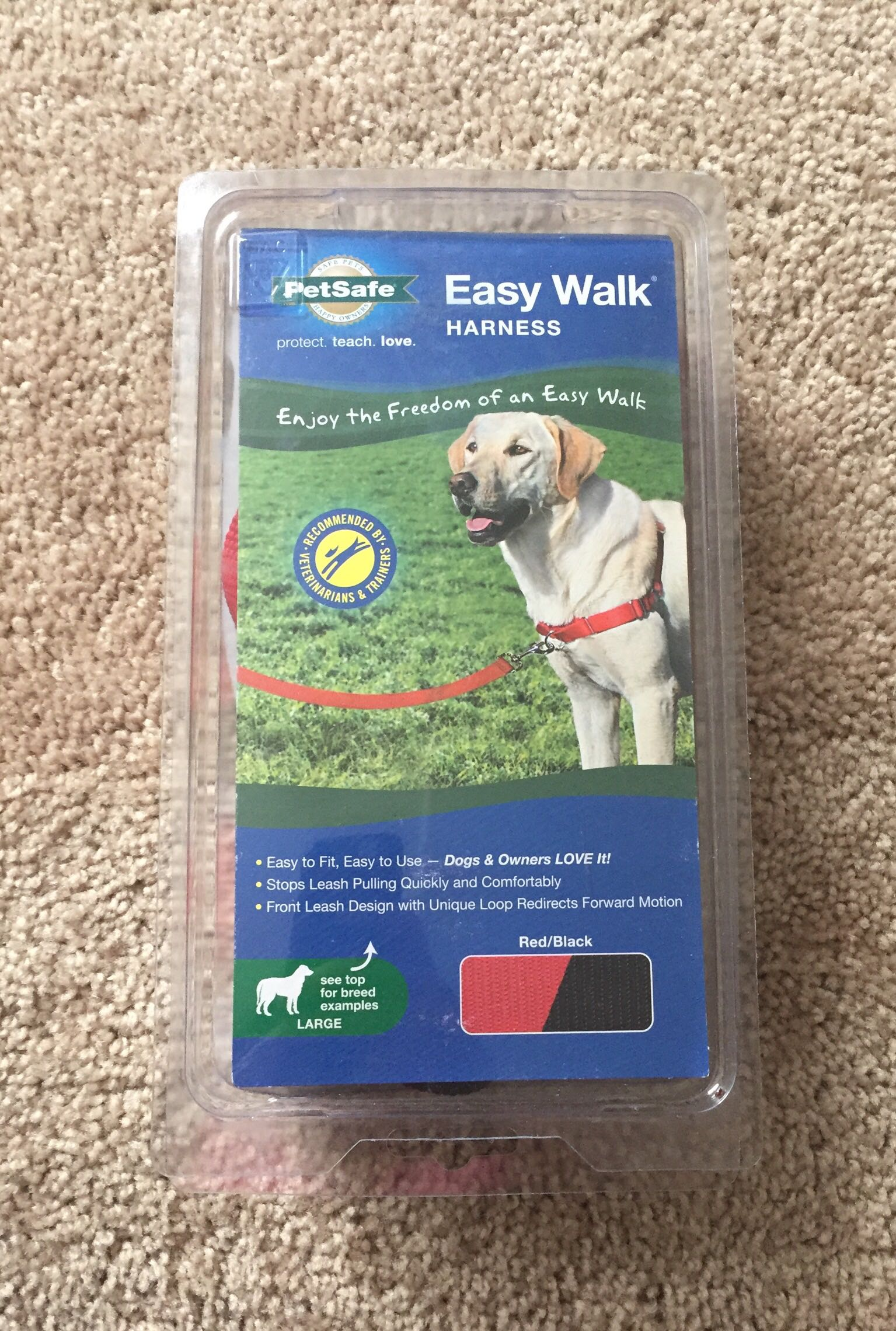 Easy Walk Large Dog Harness