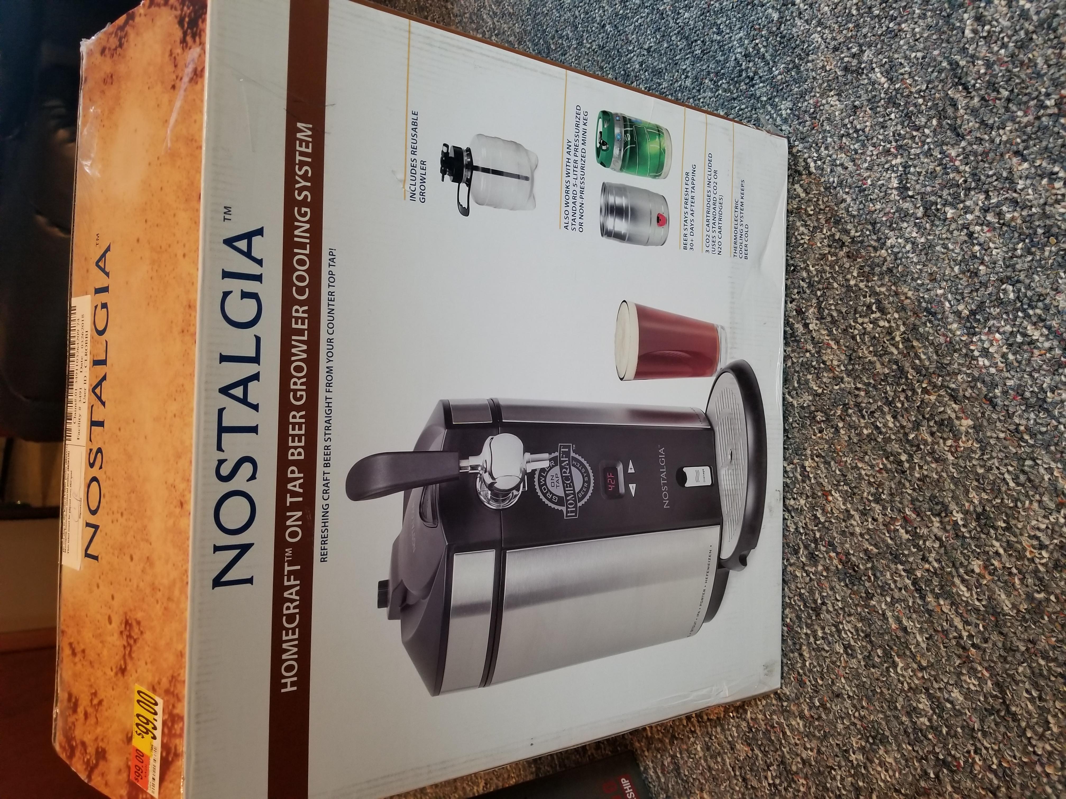 Nostalgia Beer Cooling system