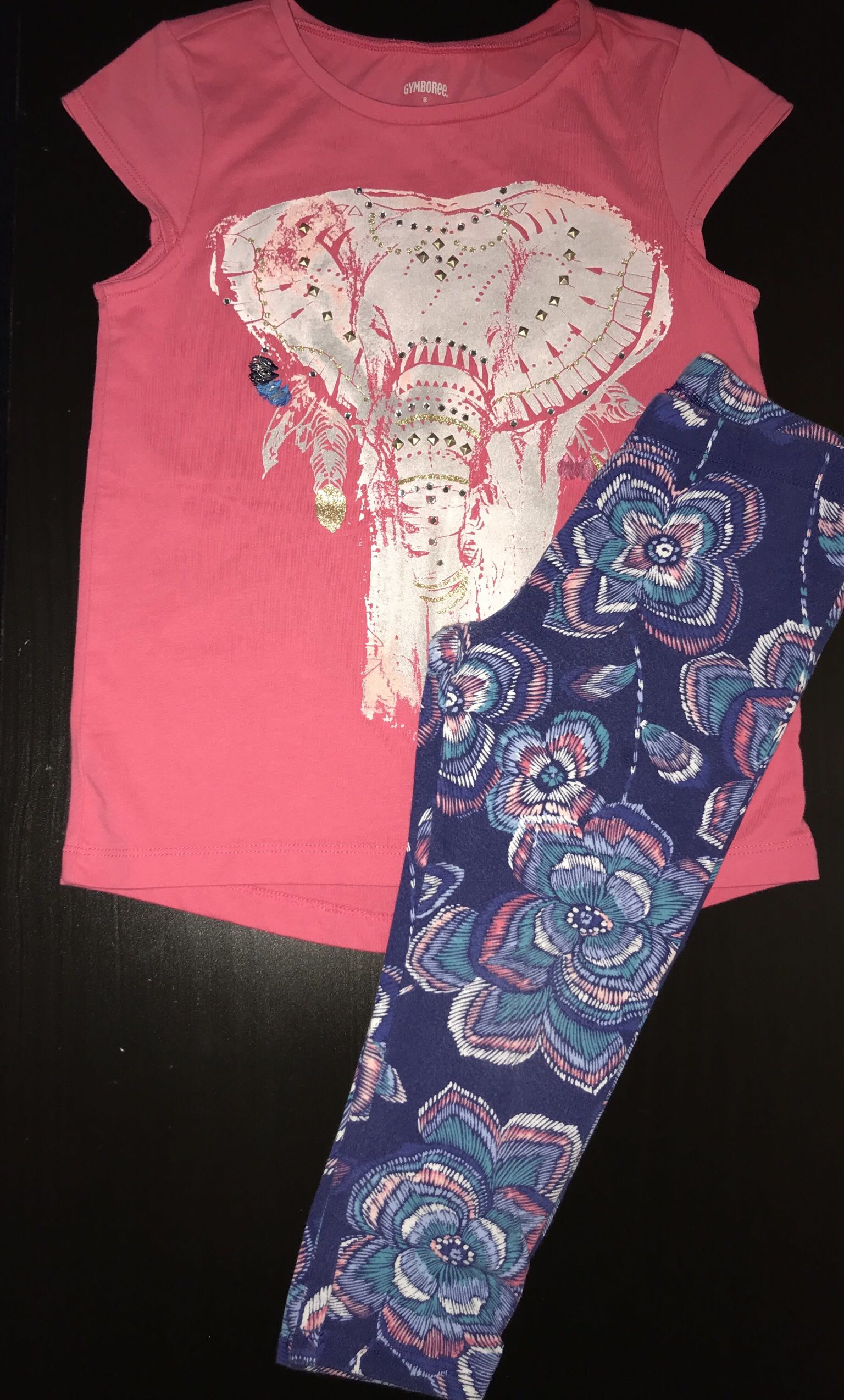 Girls Gymboree outfit size 7/8