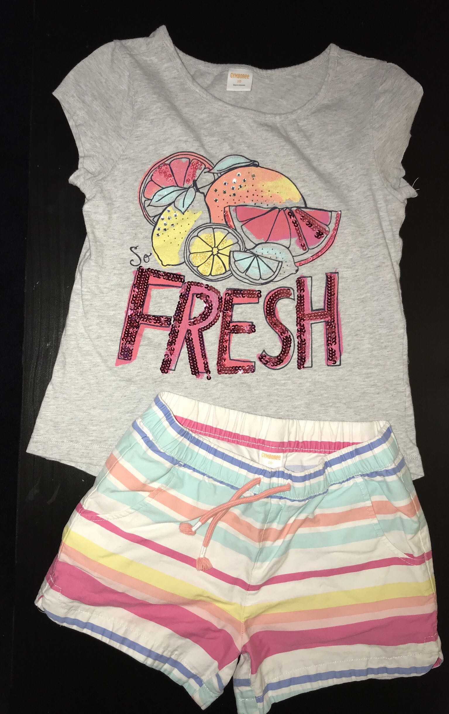 Girls Gymboree outfit- size 10