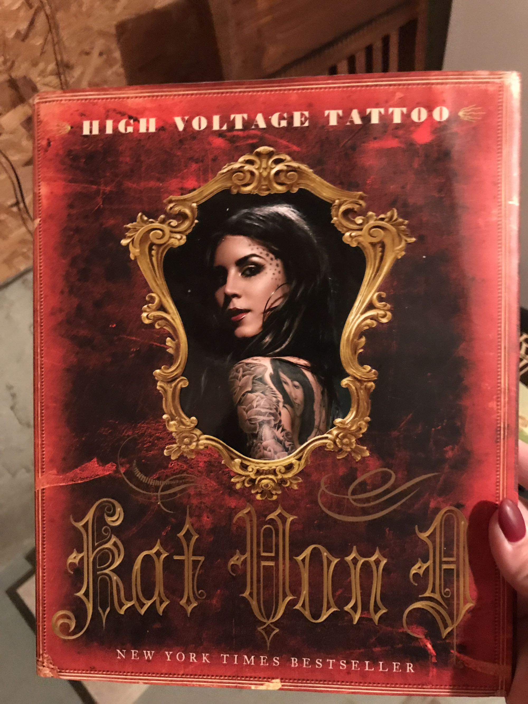 High voltage tattoo book- Kat Von D