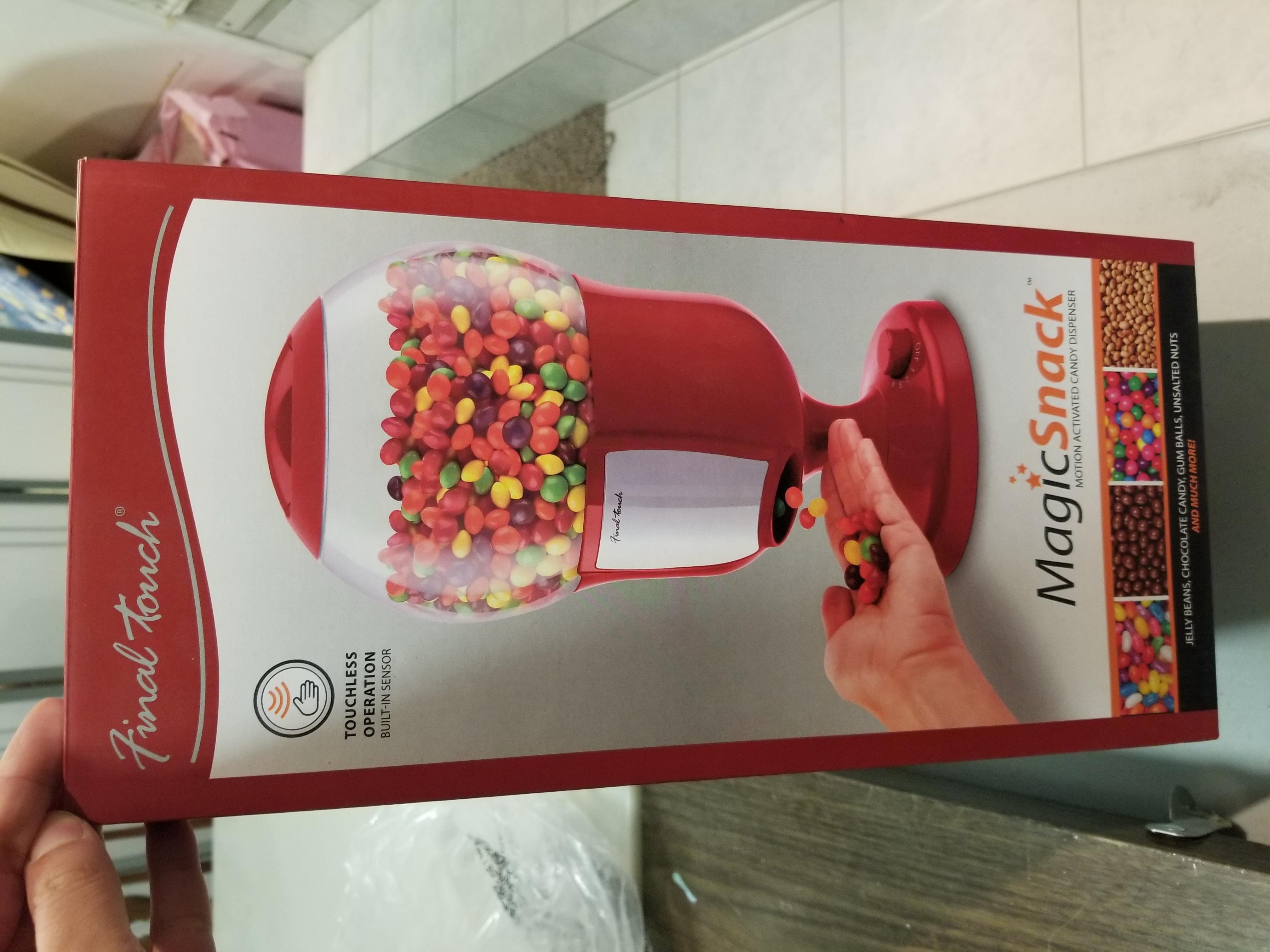 Magic Snack motion activated candy dispenser