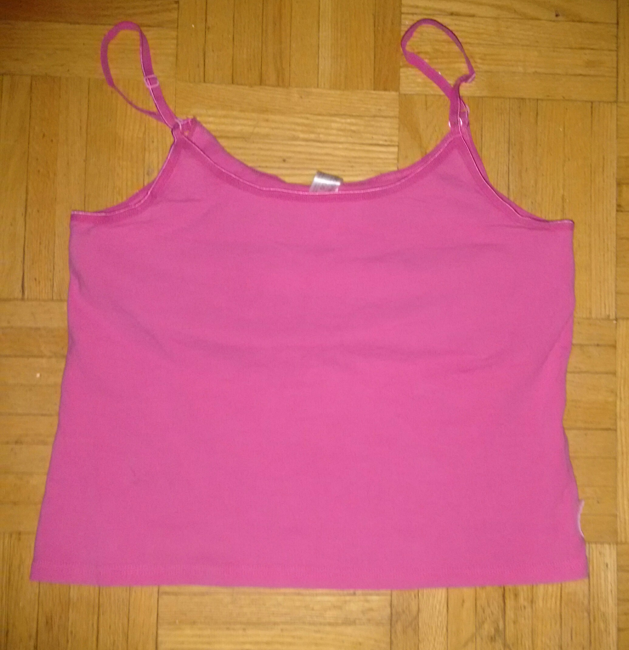 Hot pink top large