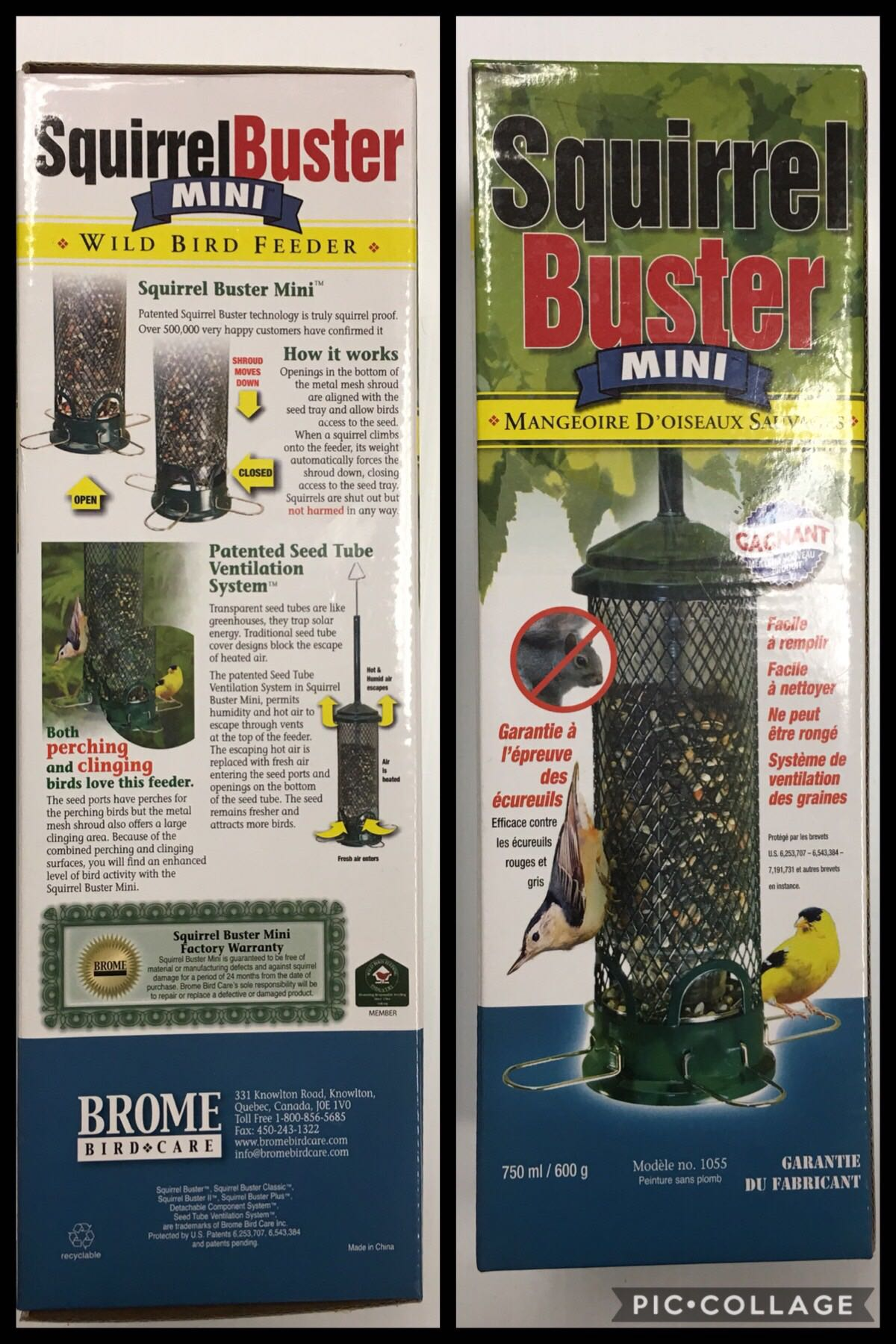 Squirrel Buster Mini Bird Feeder