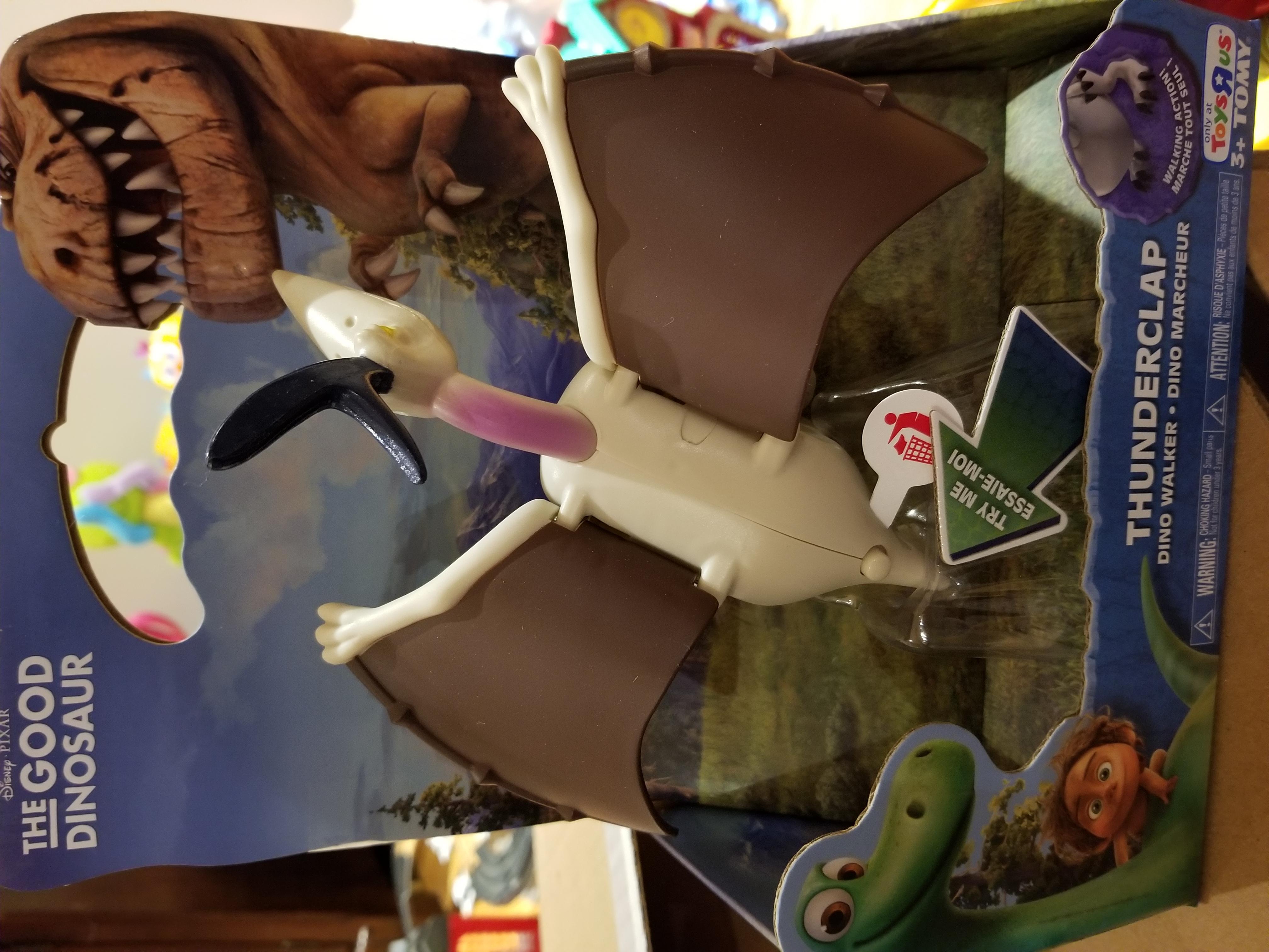 The good dinosaur- thunderclap dino walker