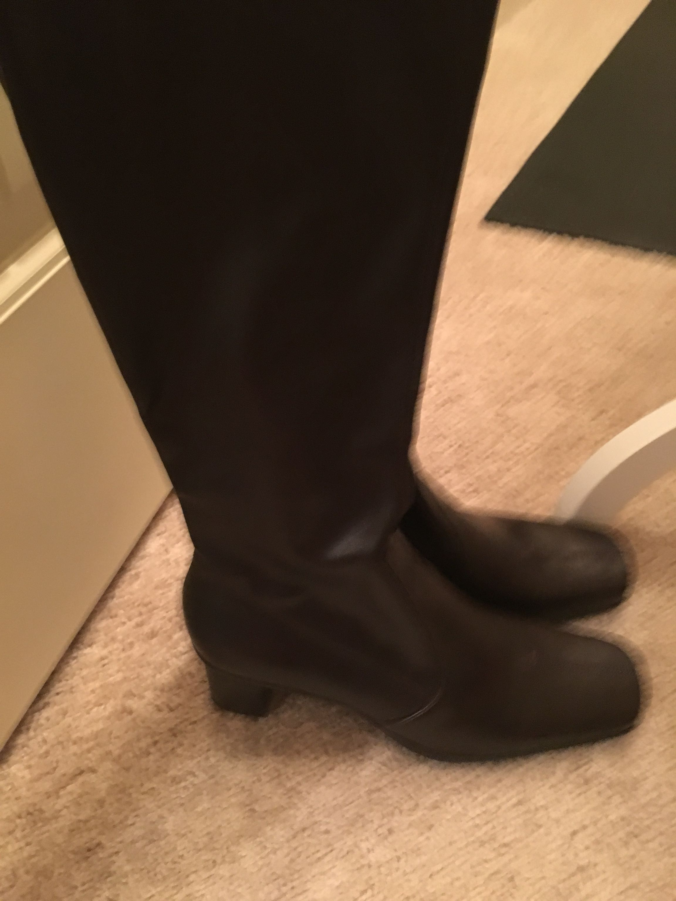 Brown Franco Sarto boots new never worn size 8
