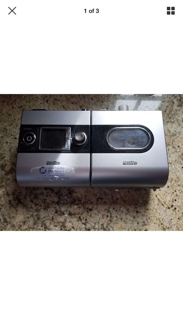 Cpap ResMed S9 AutoSet H5i Heated Humidifier