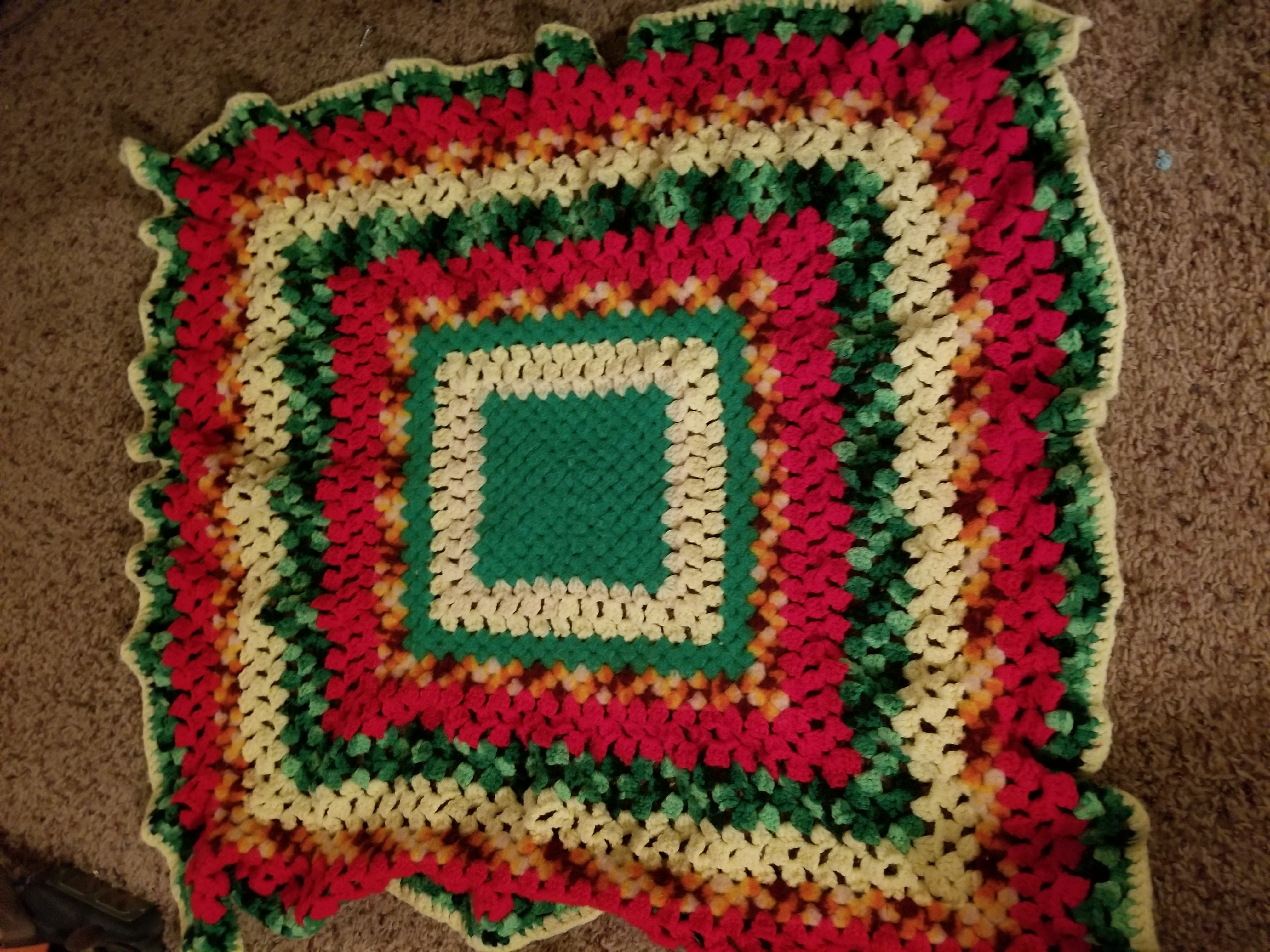 Baby sized Afghan $2