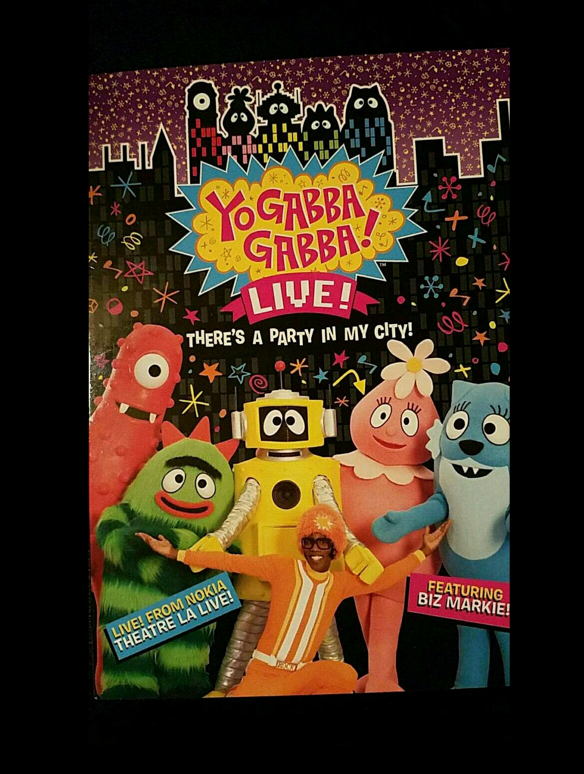 Yo Gabba Gabba LIVE! There's a Party in My City!! NIP