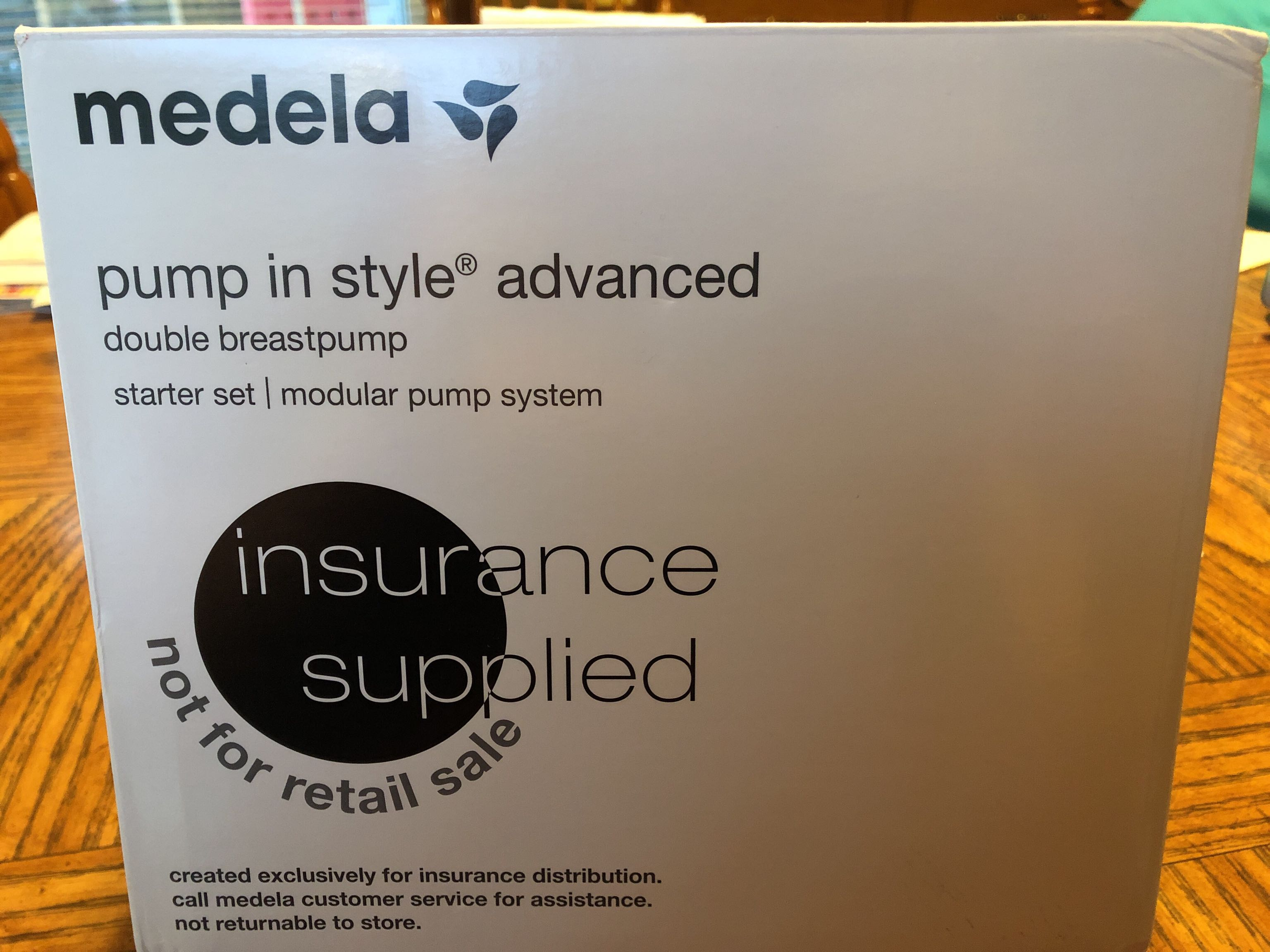 New Medela Breast Pump