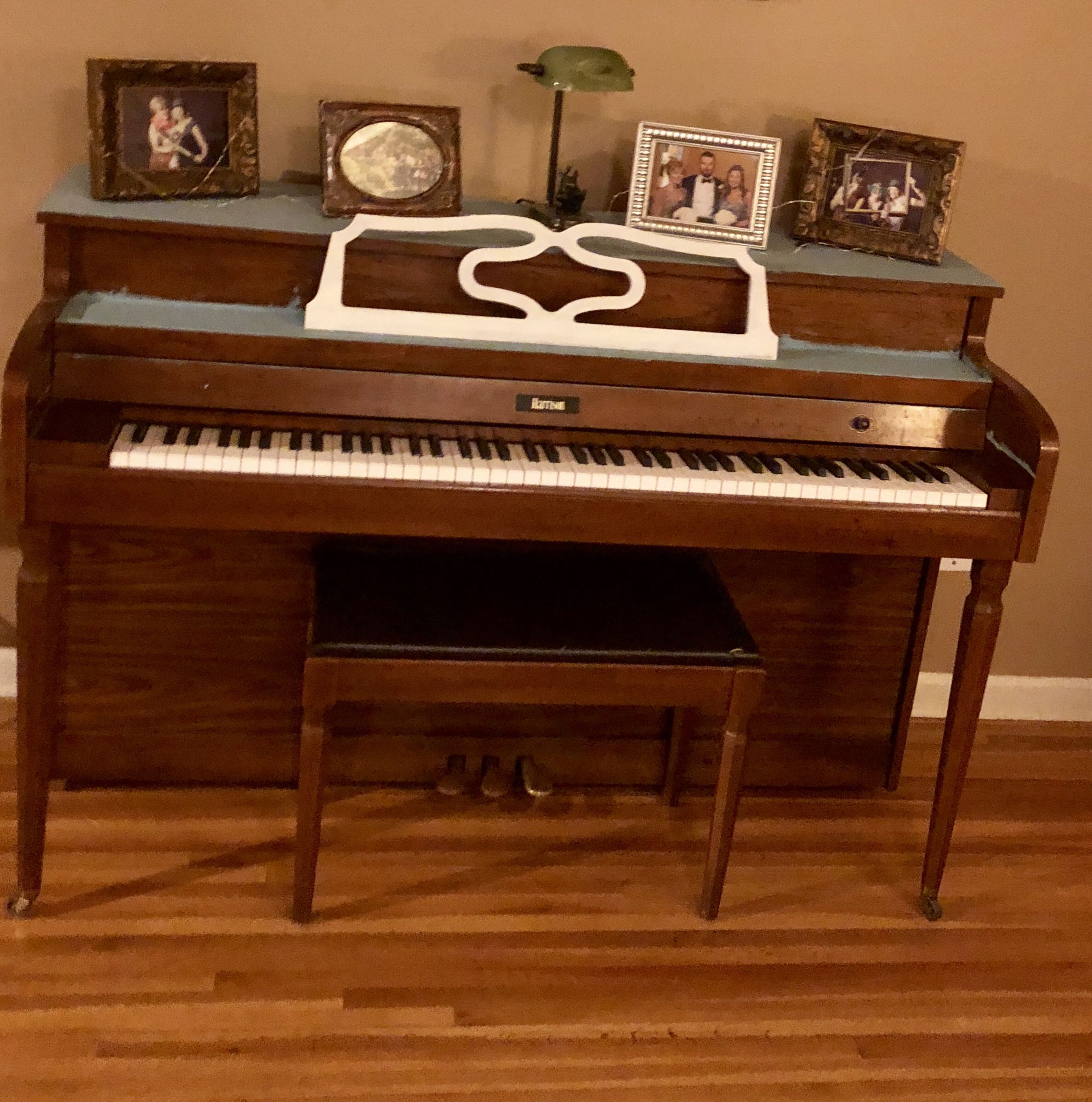 Console piano must go!