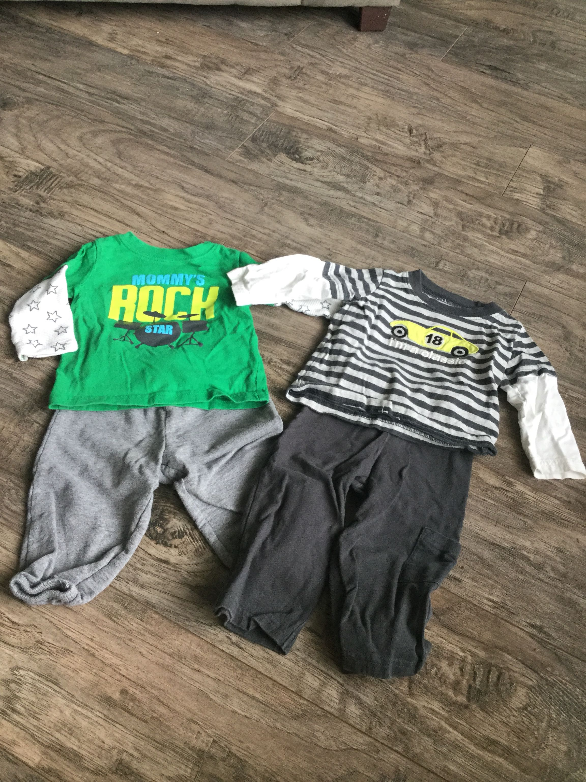 9 Month Carters Outfits