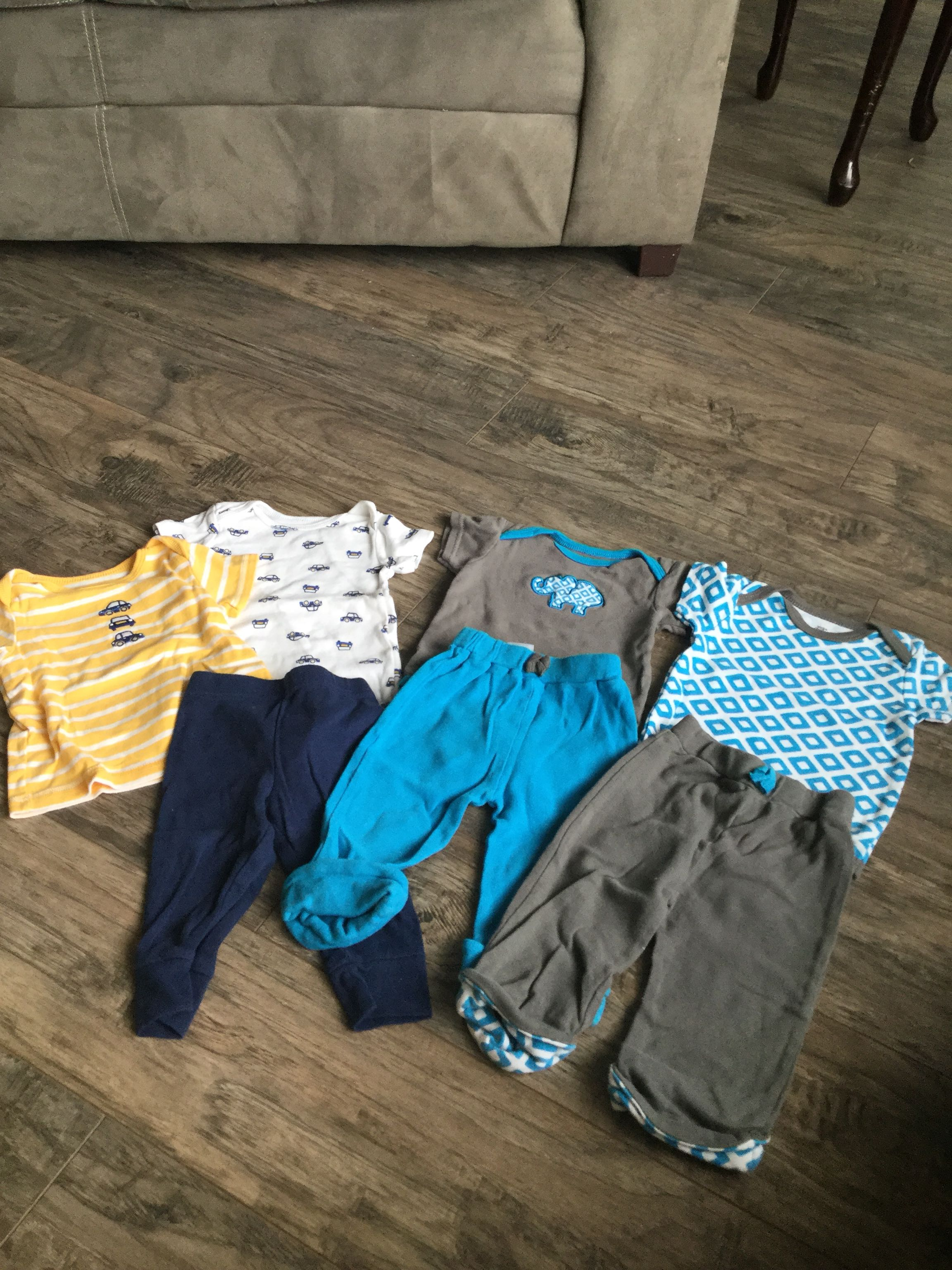 6-9 Month Carter & Yoga Sprout Brand